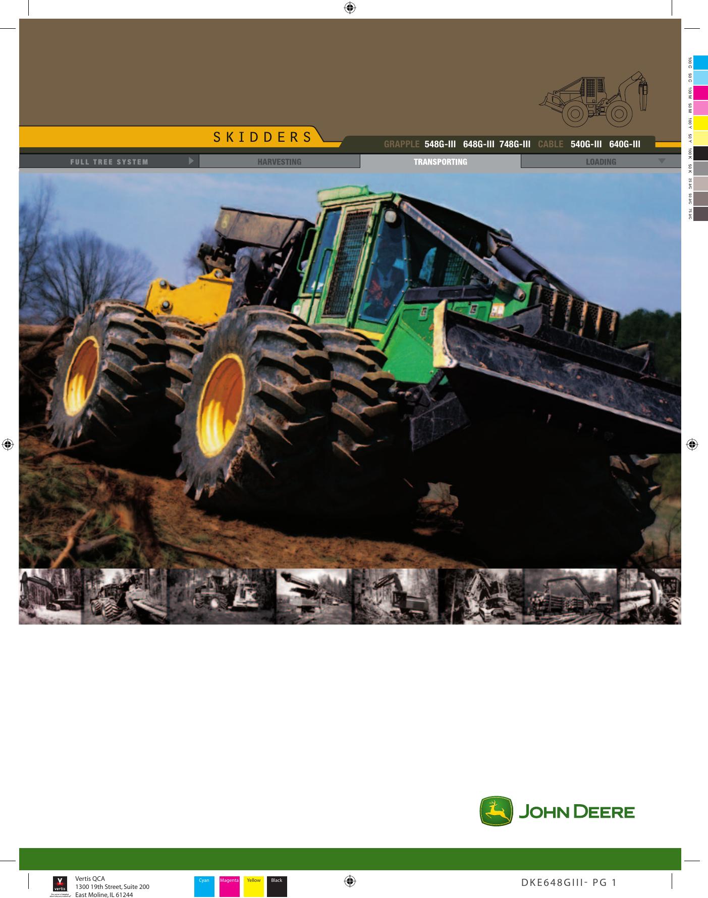 John Deere 540G Iii Users Manual on
