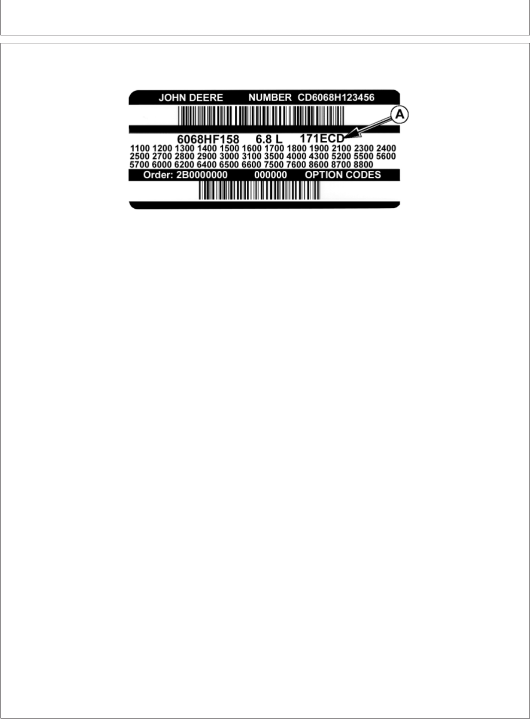John Deere Cd4039df008 Users Manual Y40012unit 6200 Fuse Box Diagram Record Keeping
