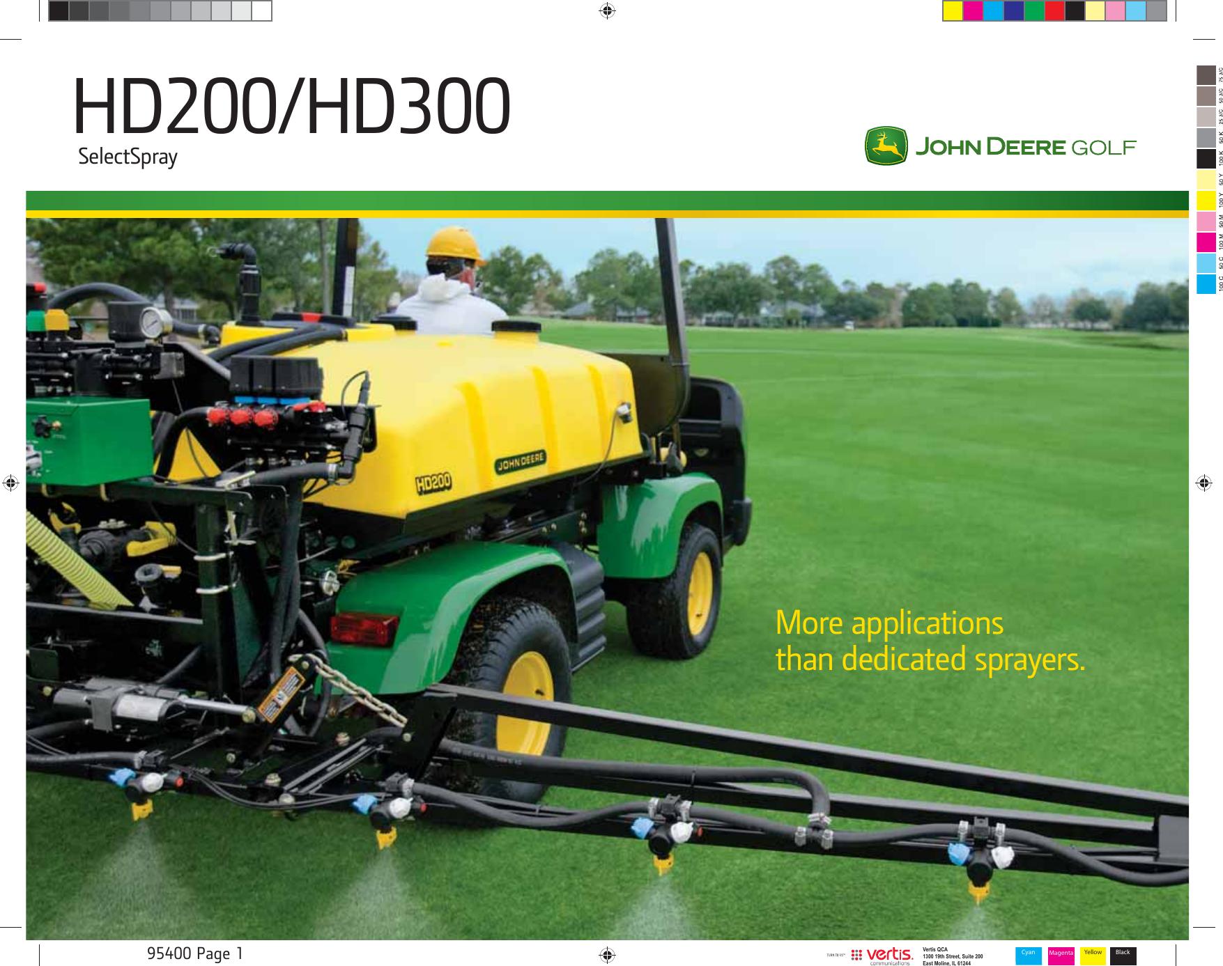 John Deere Hd200 Users Manual
