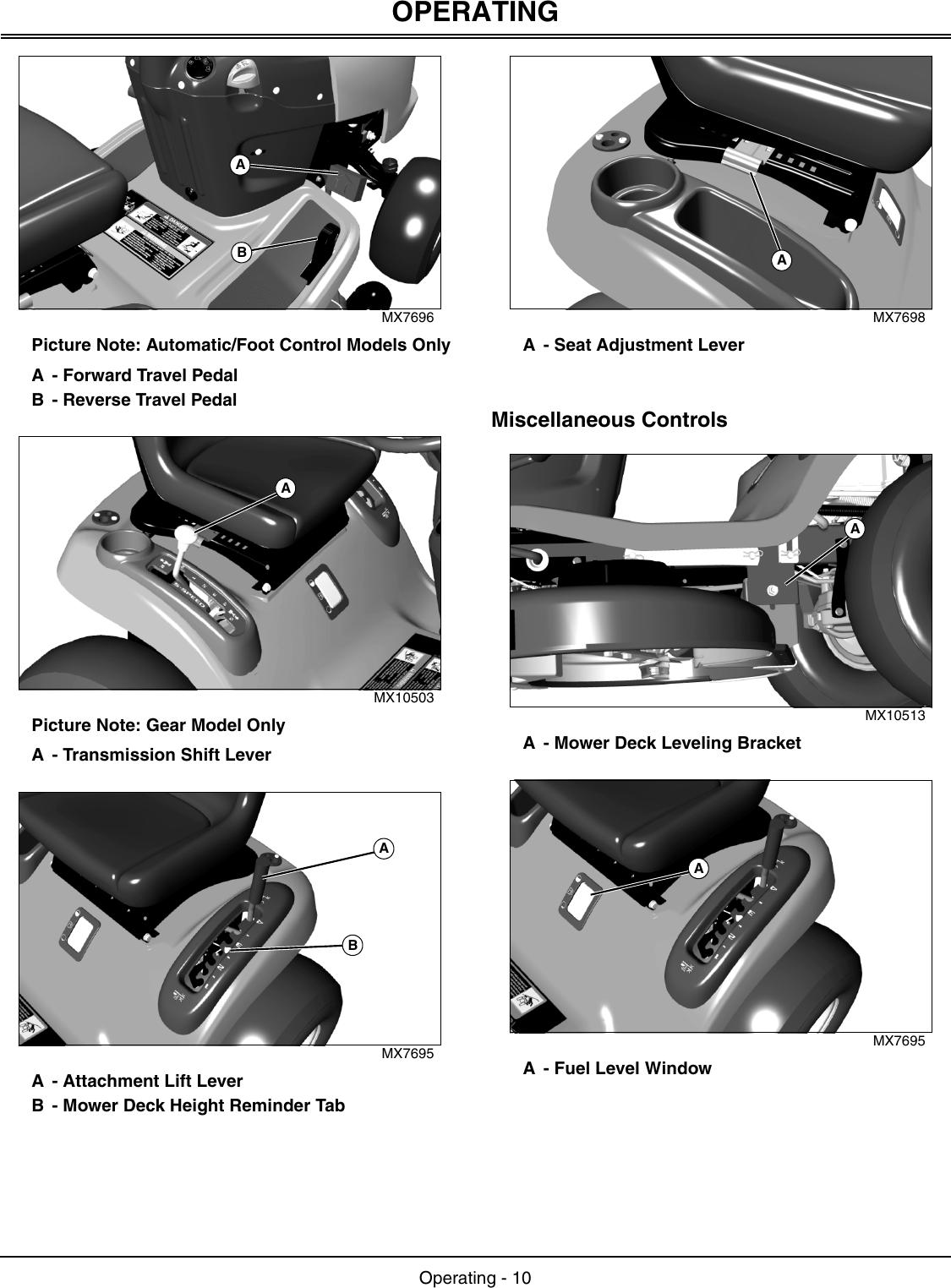 John Deere L1742 Users Manual