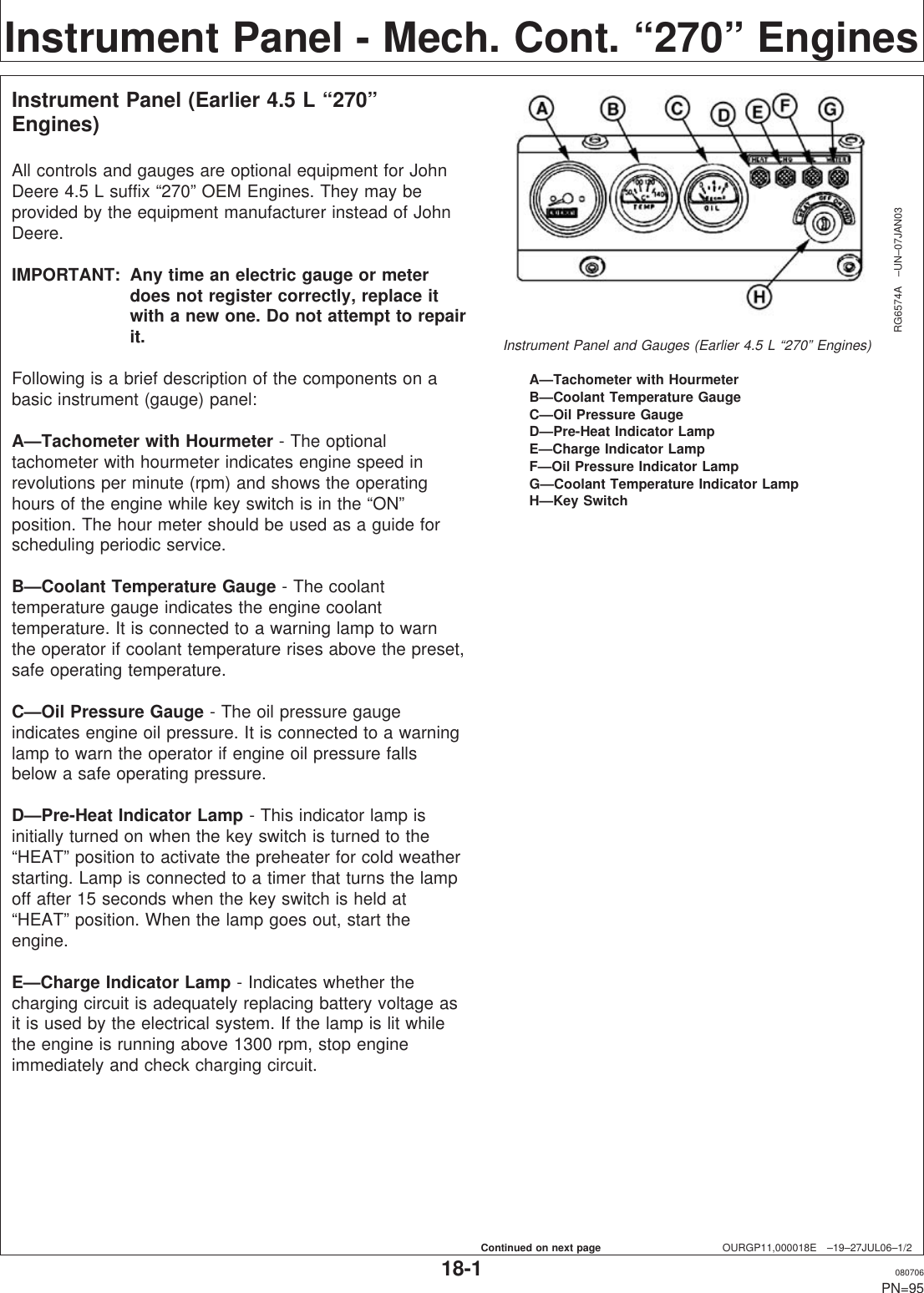 John Deere Powertech 6068 Users Manual 100525UNIT