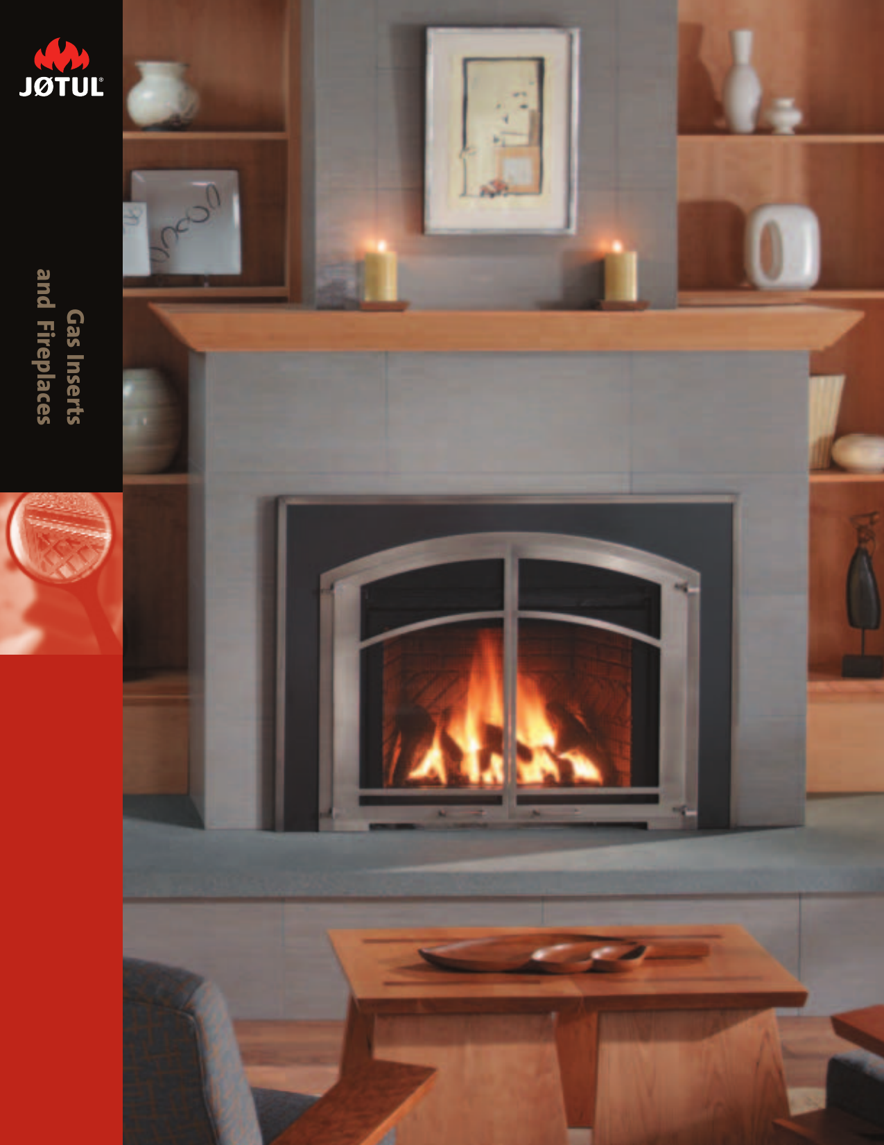 Jotul Gas Inserts And Fireplaces Users Manual