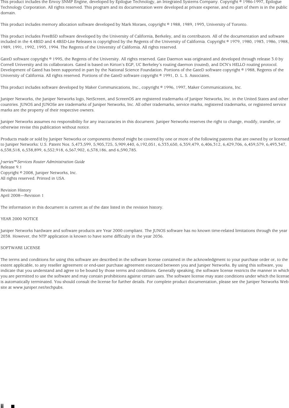 Juniper Networks J Series Users Manual