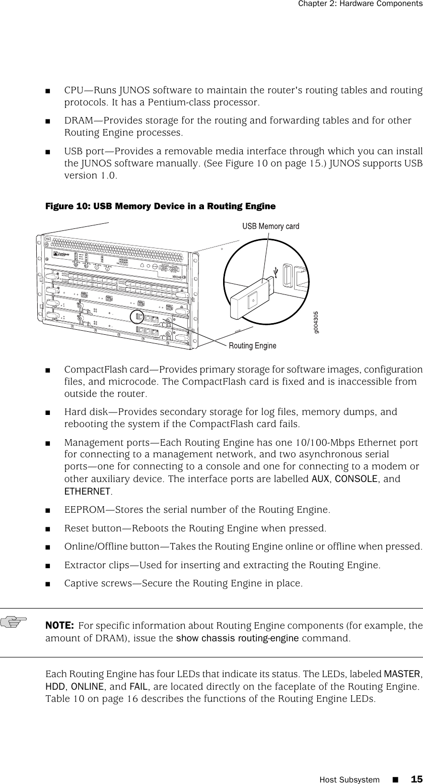 Juniper Networks Network Router Mx240 Users Manual