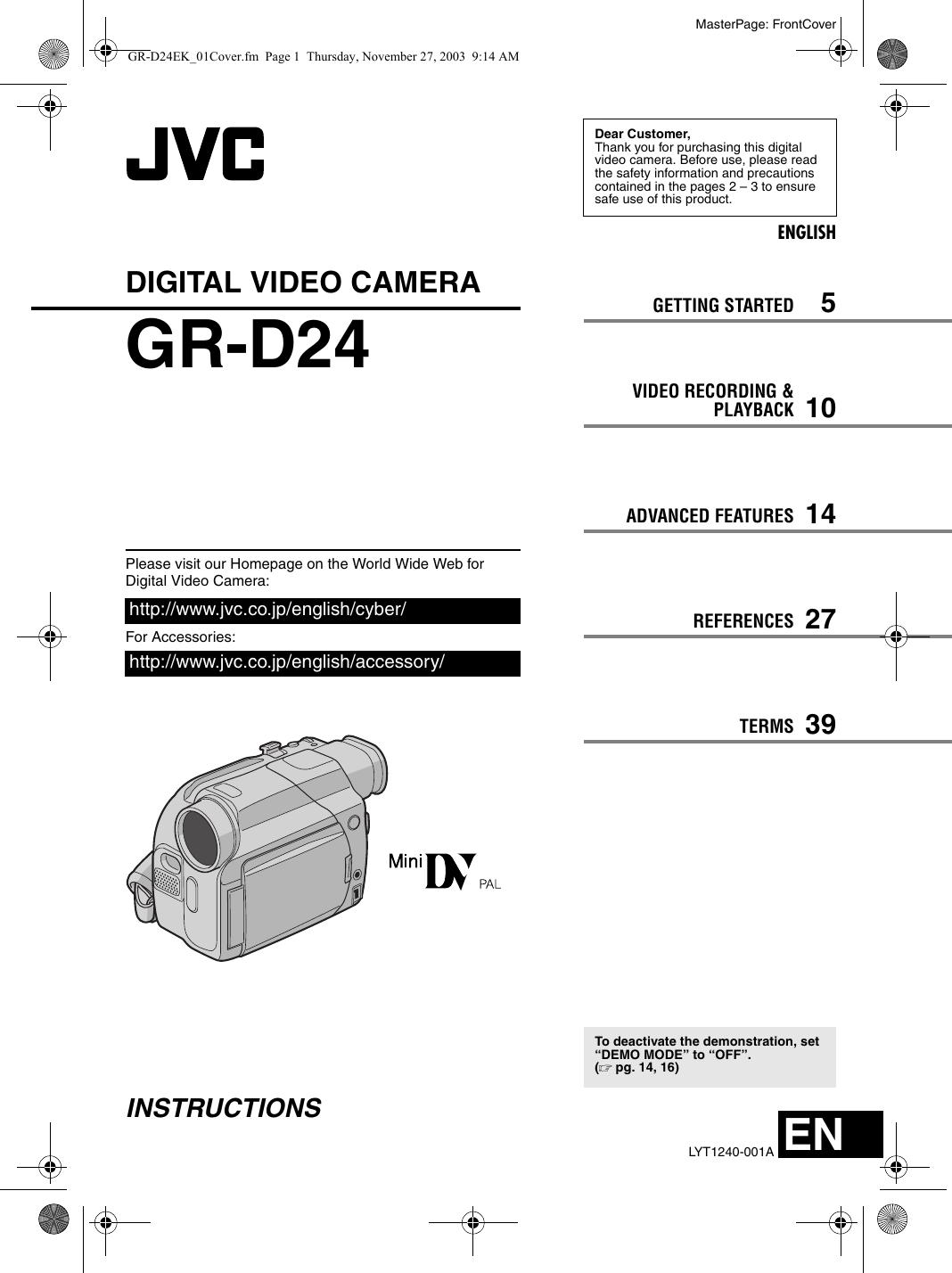 JVC GR-D24EK 64BIT DRIVER