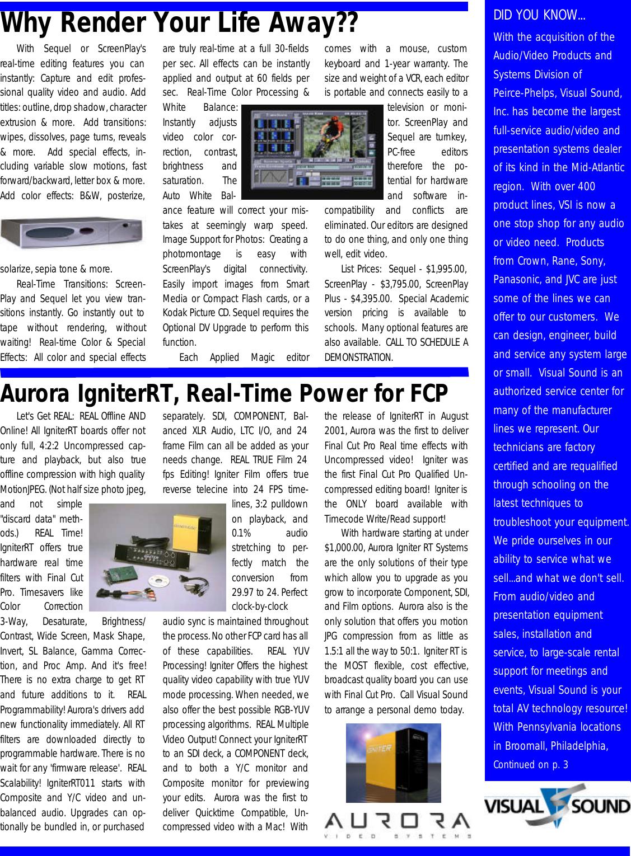 Jvc Dv 3 Ccd Gy Dv5000U Users Manual Visual Sounder V2 N1