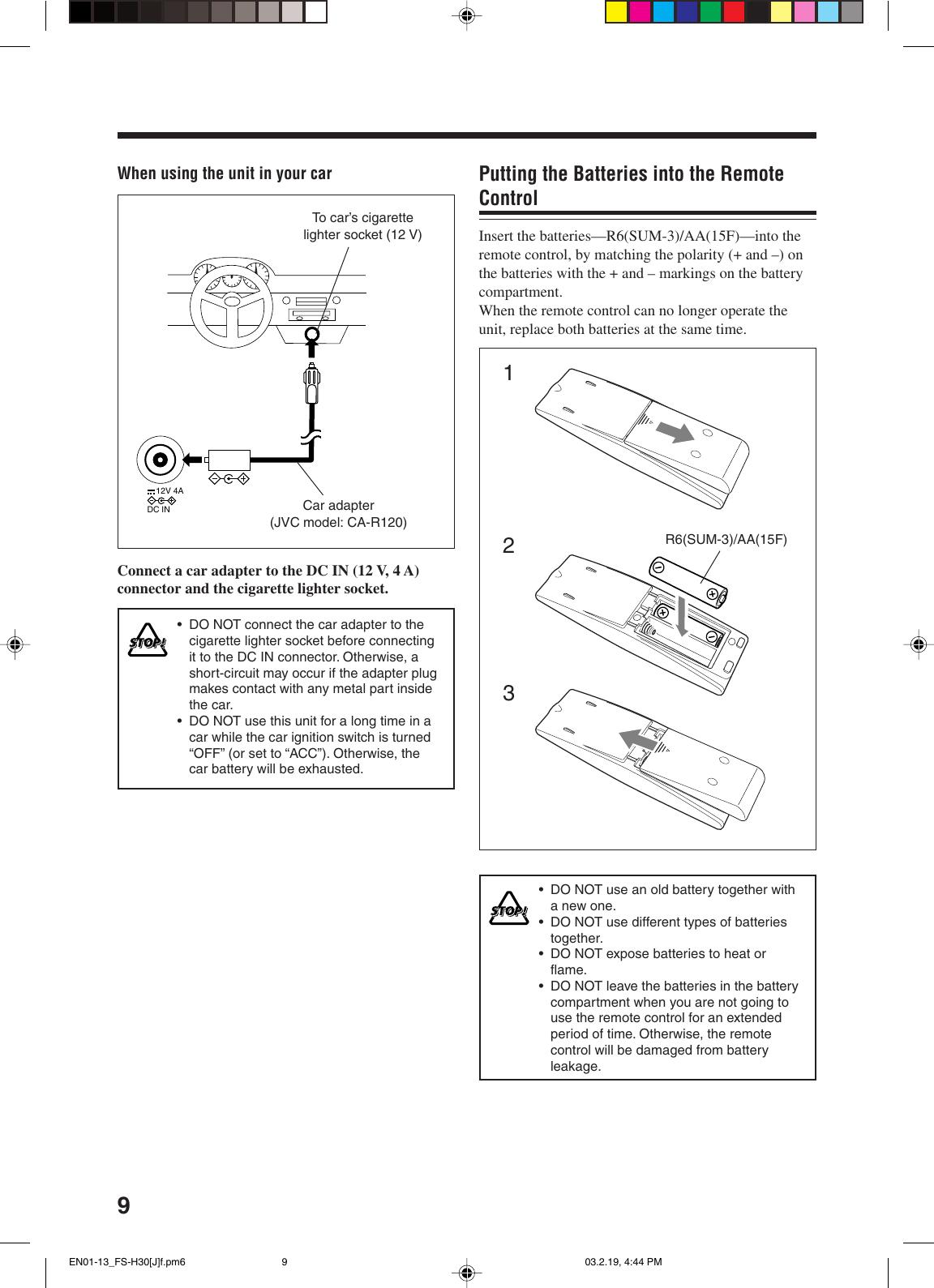 Jvc Fs H35 Users Manual H35/FS H30[J]