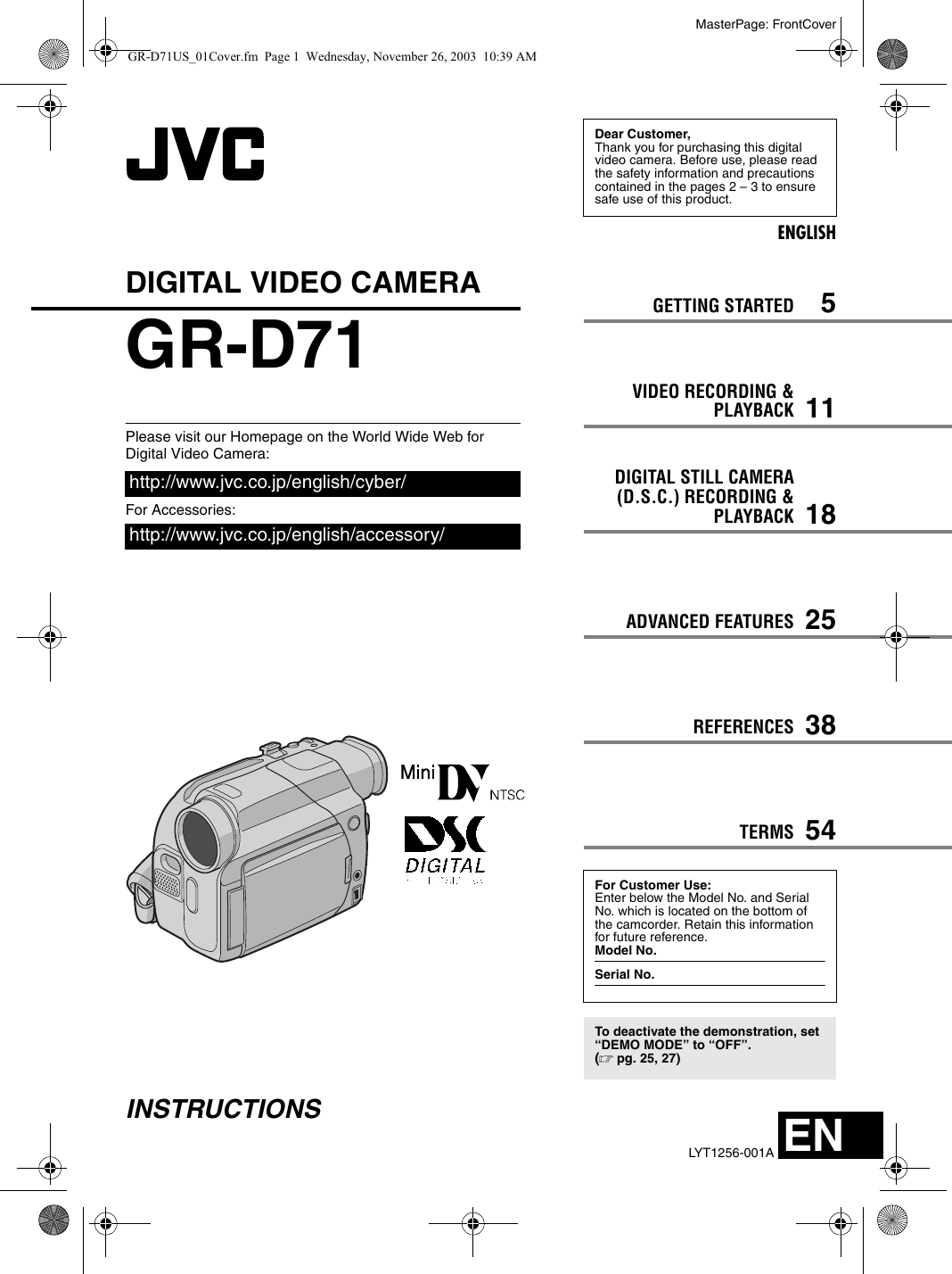 JVC GR-D71 DRIVERS FOR PC