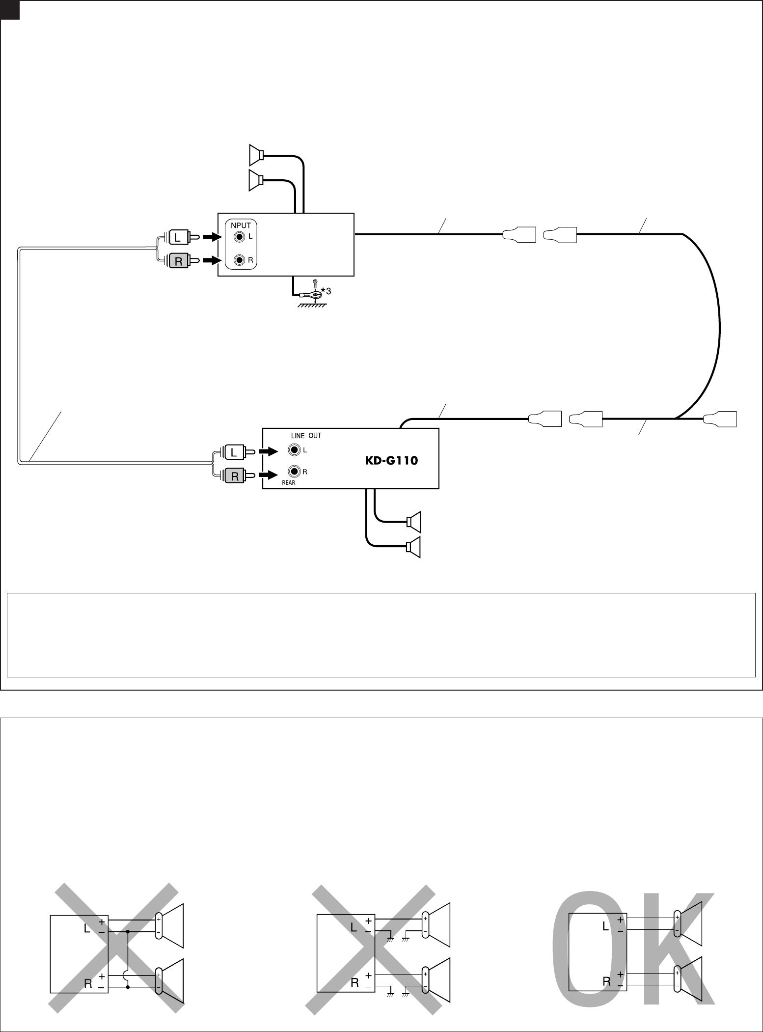 jvc kd g110 wiring diagram jvc kd g110 installation manual instal1 2 kd g110 j f  jvc kd g110 installation manual instal1