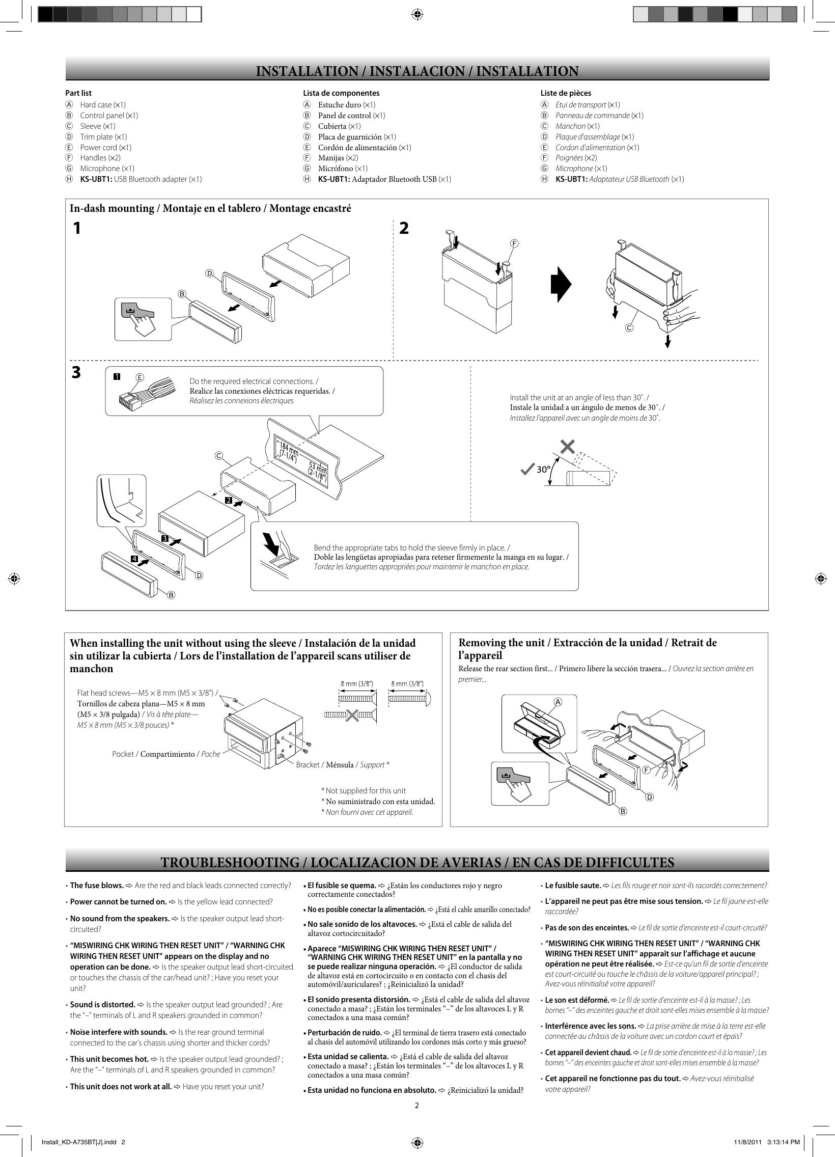 page 2 of 4 - jvc jvc-kd-r730bt-installation-manual-