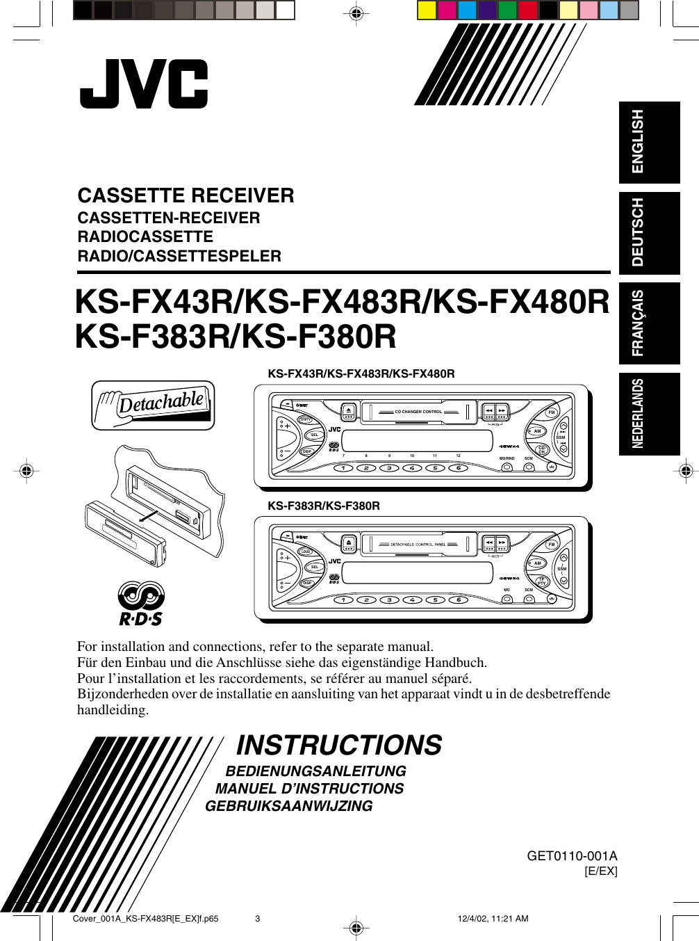 Jvc Ks F383R Users Manual FX43R_001