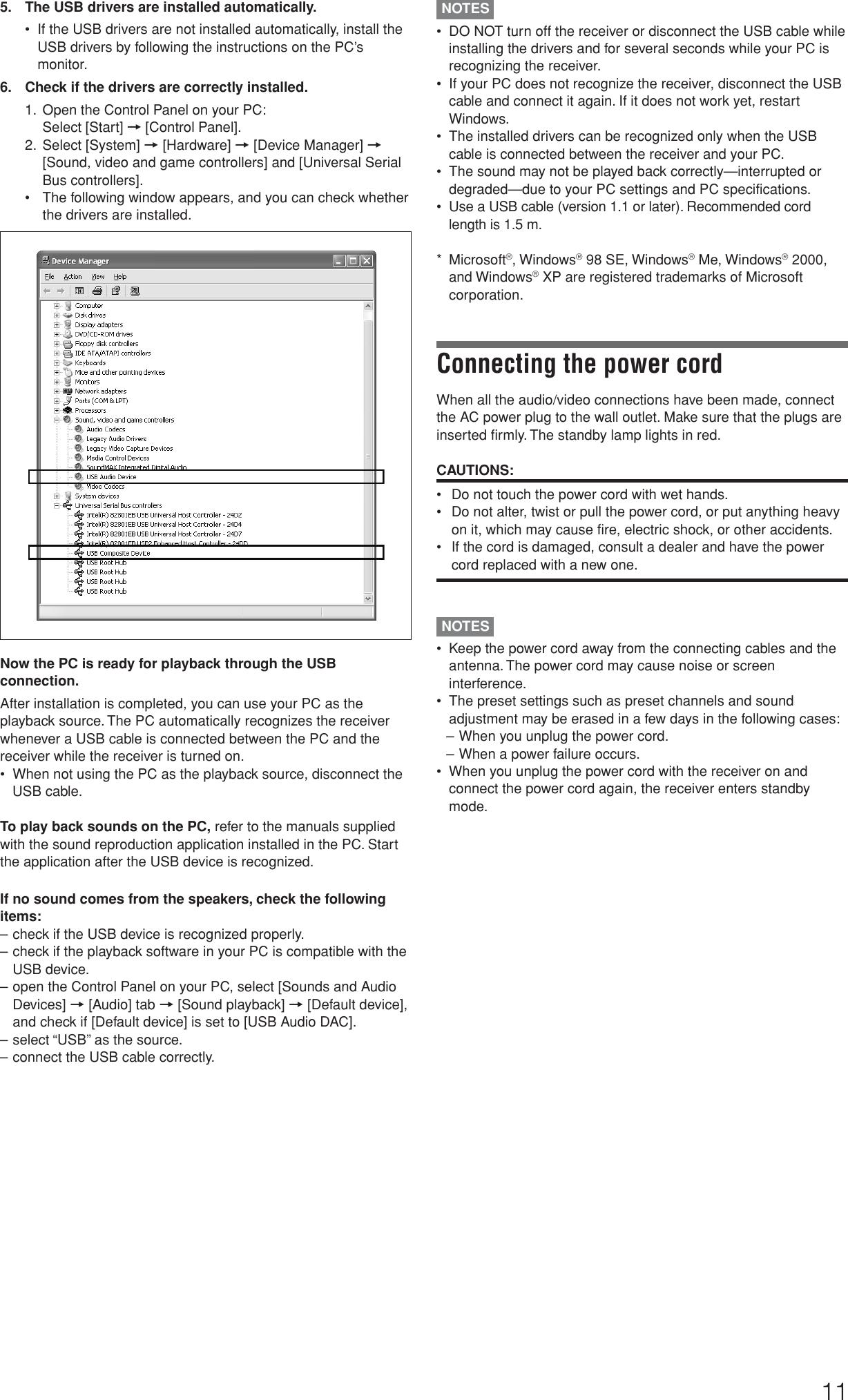 Jvc Stereo Receiver Rx D205S Users Manual D205S/D206B[J]
