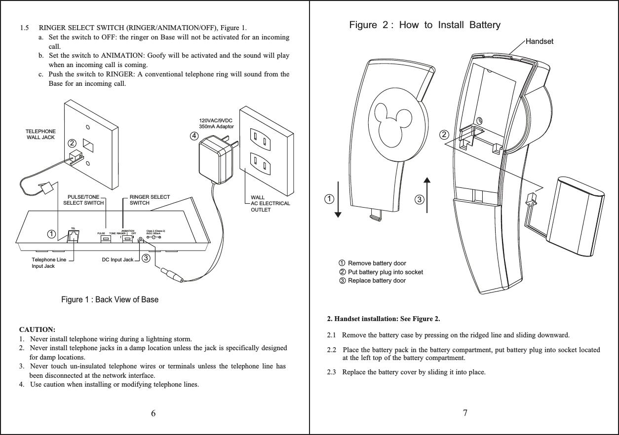 Kcl Technology Bbgc900ph 900 Mhz Cordless Telephone User Manual