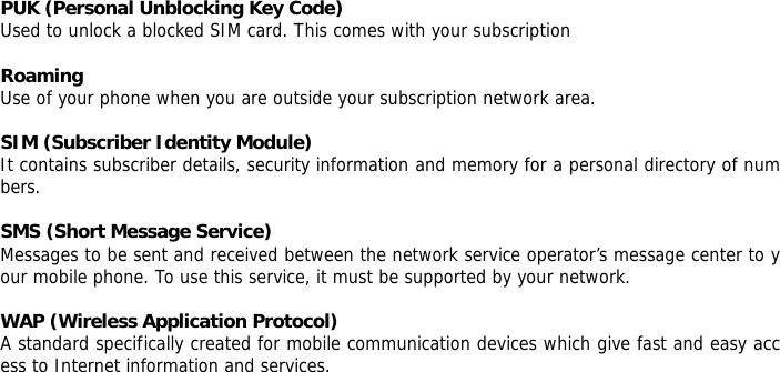 KCMobile N120 QUAD-BAND MULTIMEDIA GSM PHONE User Manual 8