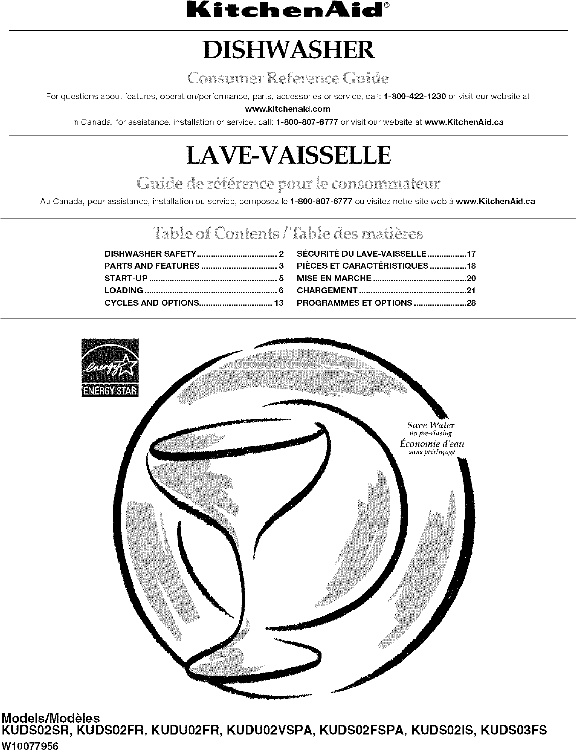 Kitchenaid Dishwasher Manual L0701319 Manual Guide