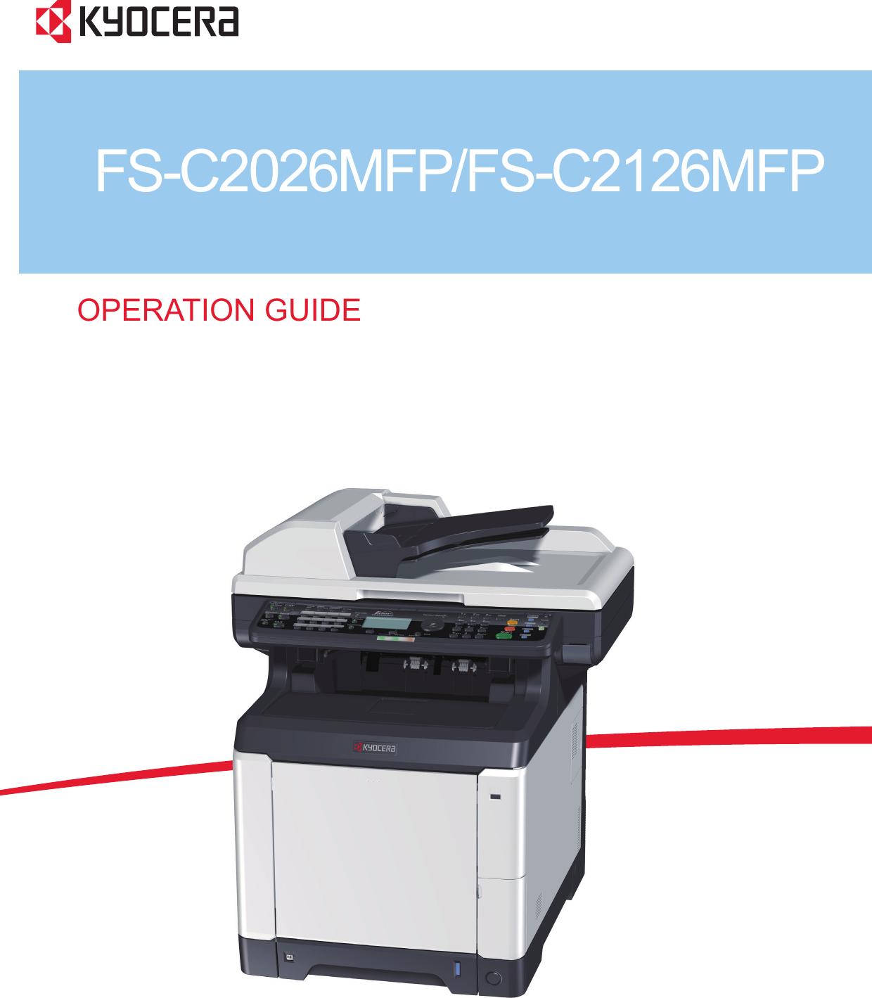 Инструкция kyocera fs 1128mfp