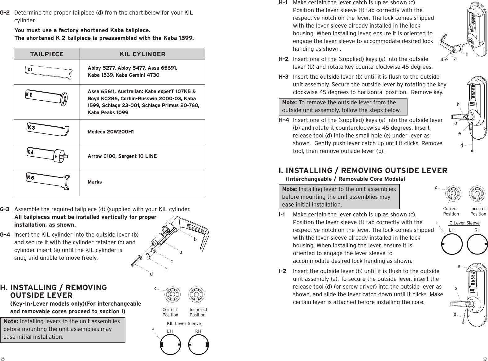 Kaba Access Simplex Mechanical Pushbutton Lock 5000 Series