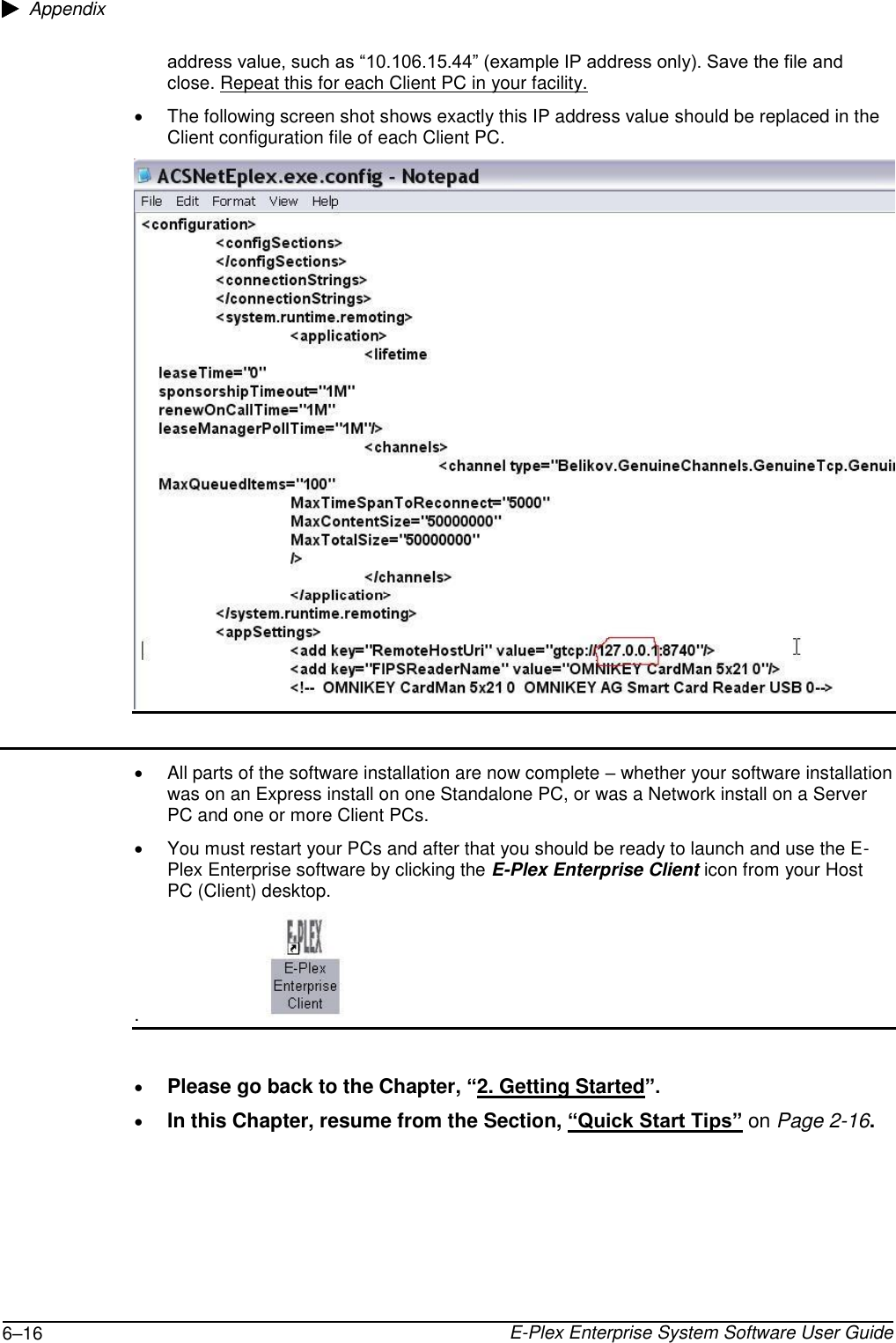 Kaba E Plex Advanced ACS User's Guide Enterprise Software