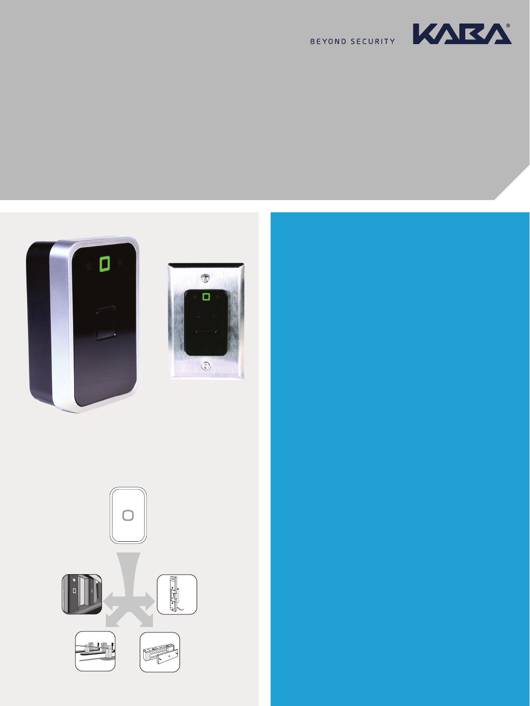 Kaba Saflok SR™ Series RFID (RCU/ECU) Fact Sheet [M3655] sr