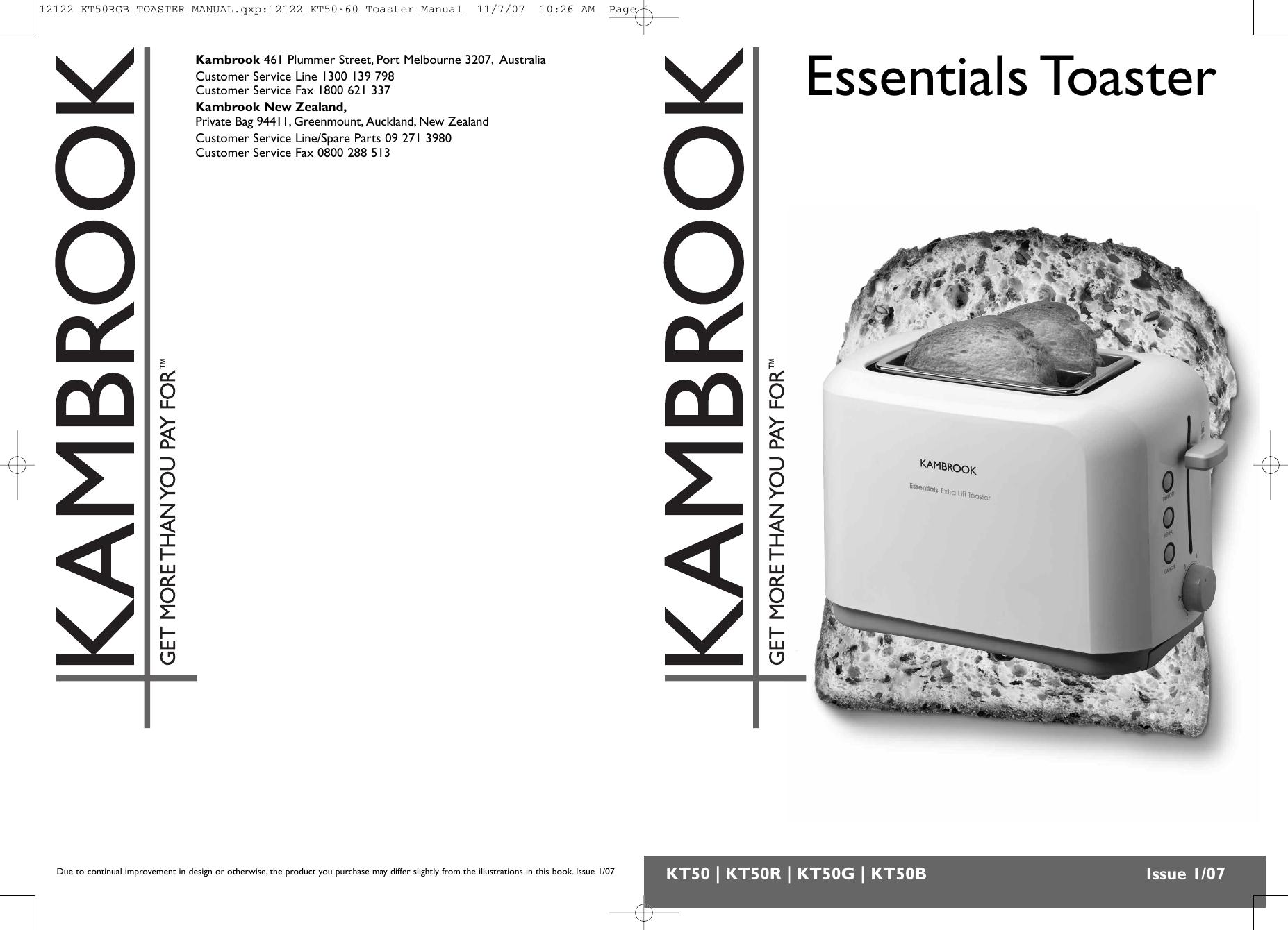 kambrook kt50 users manual 9234 kt35 45 slim toast rh usermanual wiki