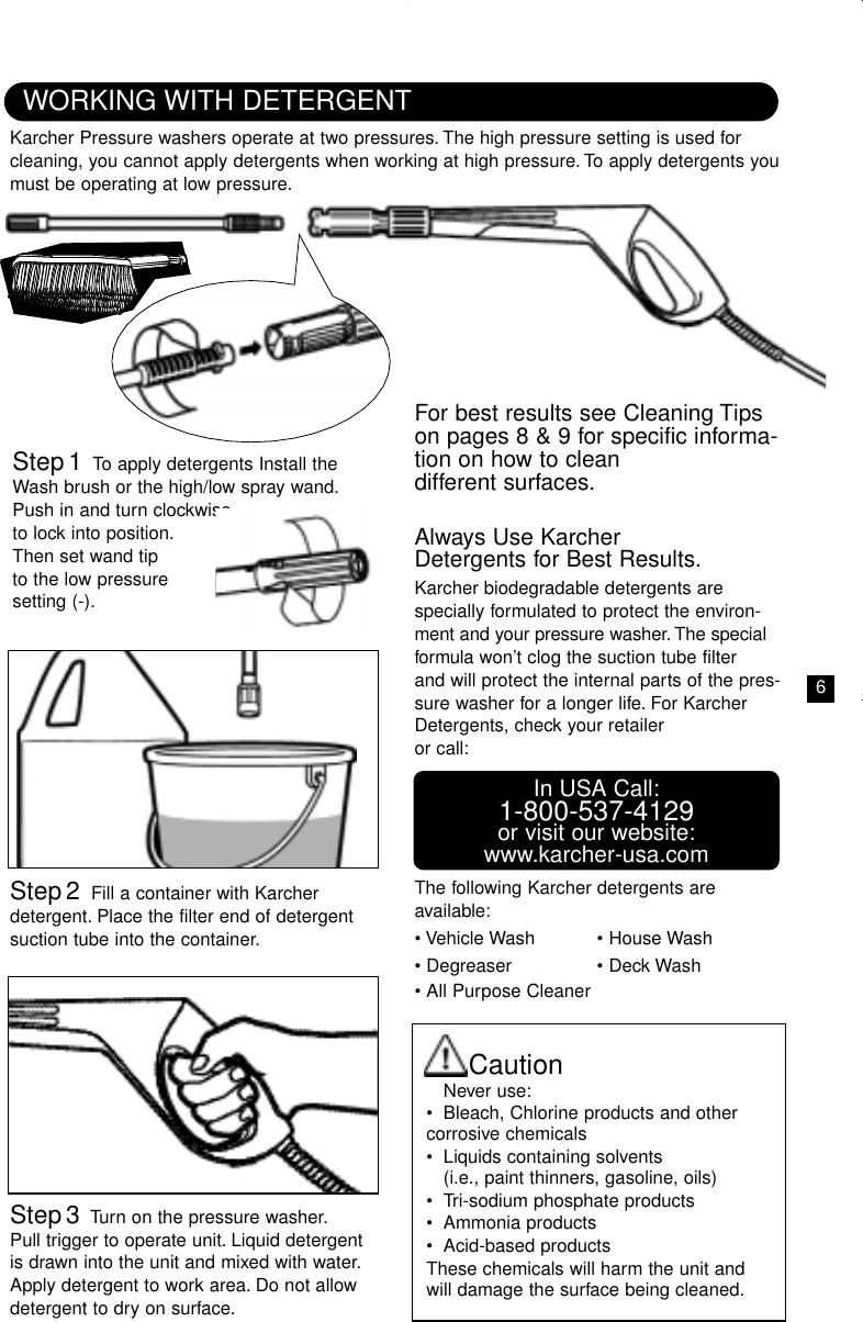 Karcher K205 M Plus Users Manual