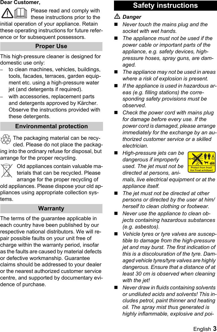 Karcher K 4 86 M Users Manual OBJ_BUCH 659 001
