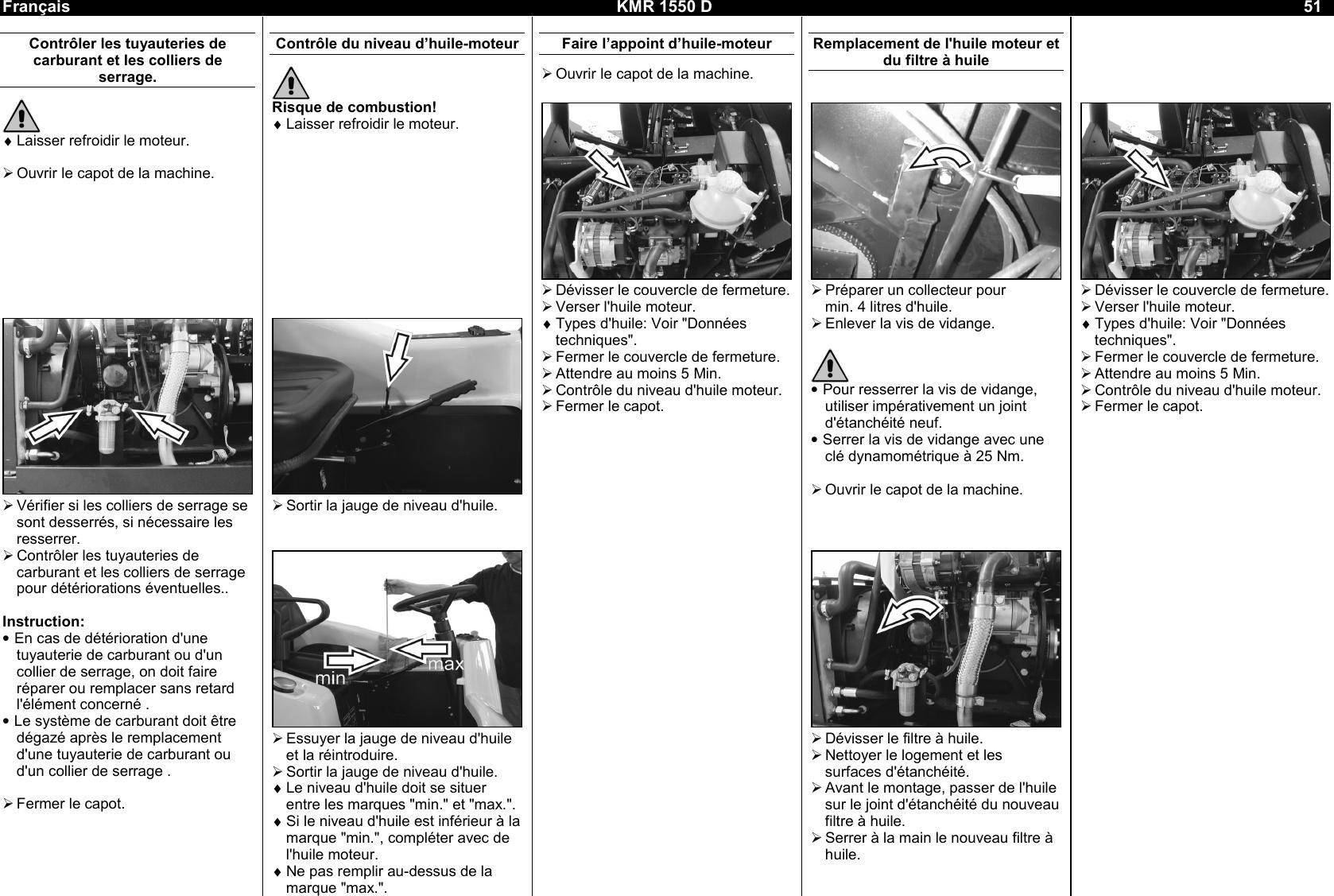 Karcher Kmr 1550 D Users Manual