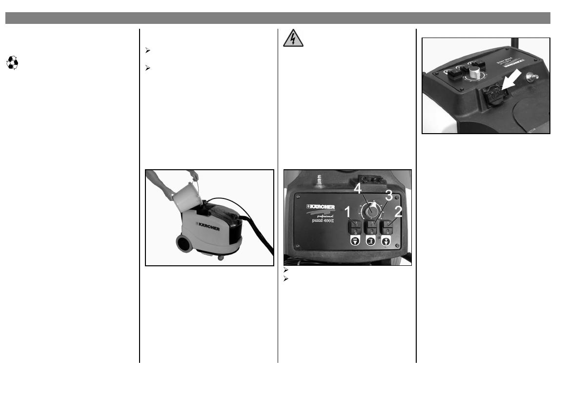 Schema Elettrico Za : Karcher puzzi 400 e users manual 109295918342