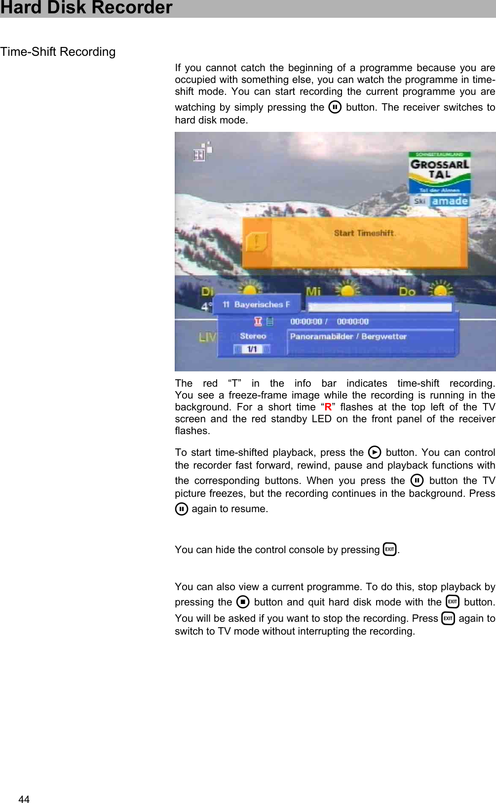 Kathrein Ufd 580 Users Manual 9362576b, Operating Twin DVR