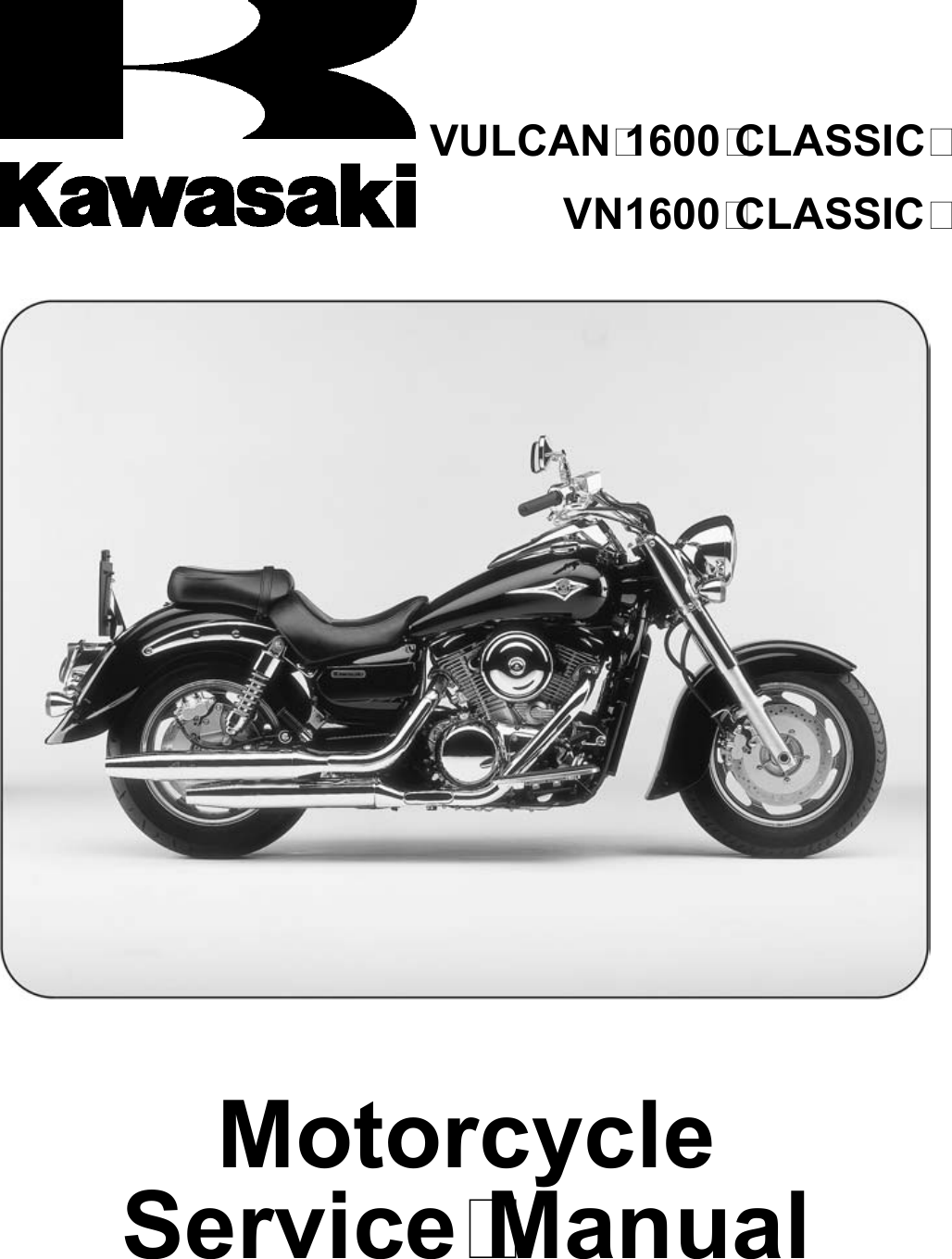 Kawasaki Vulcan 1600 Classic Service Manual Manualslib Makes It Easy Fuel Filter To Find Manuals Online