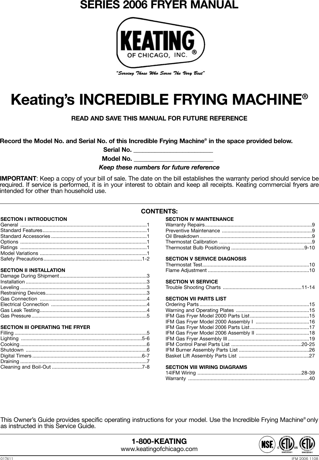Keating 034357 High Limit Manual Reset with R