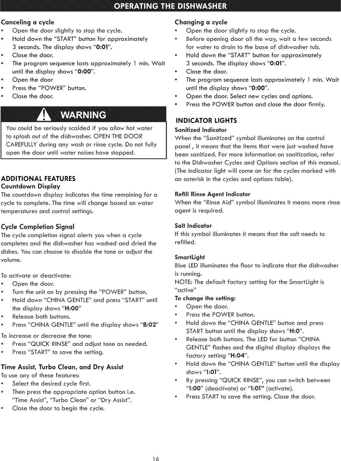 Kenmore Elite 63013993015 User Manual DISHWASHER Manuals And Guides