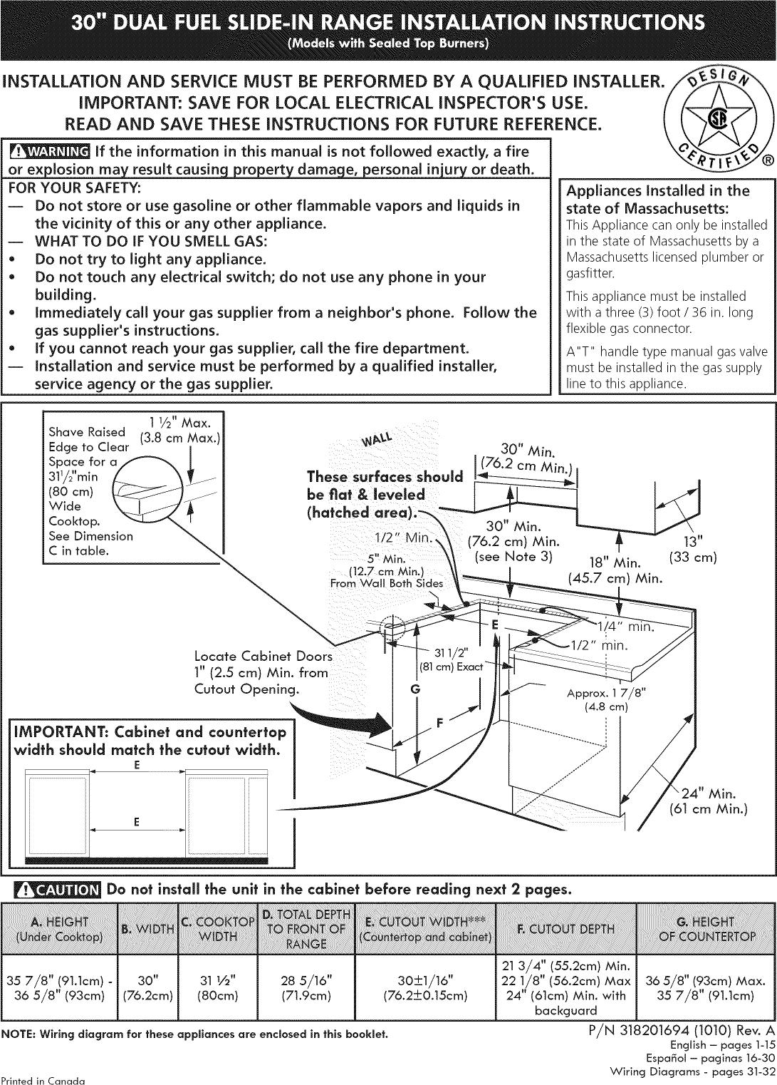 Kenmore Elite 79041103100 User Manual Dual Fuel Range Manuals And Stove Wiring Diagram Guides 1103525l