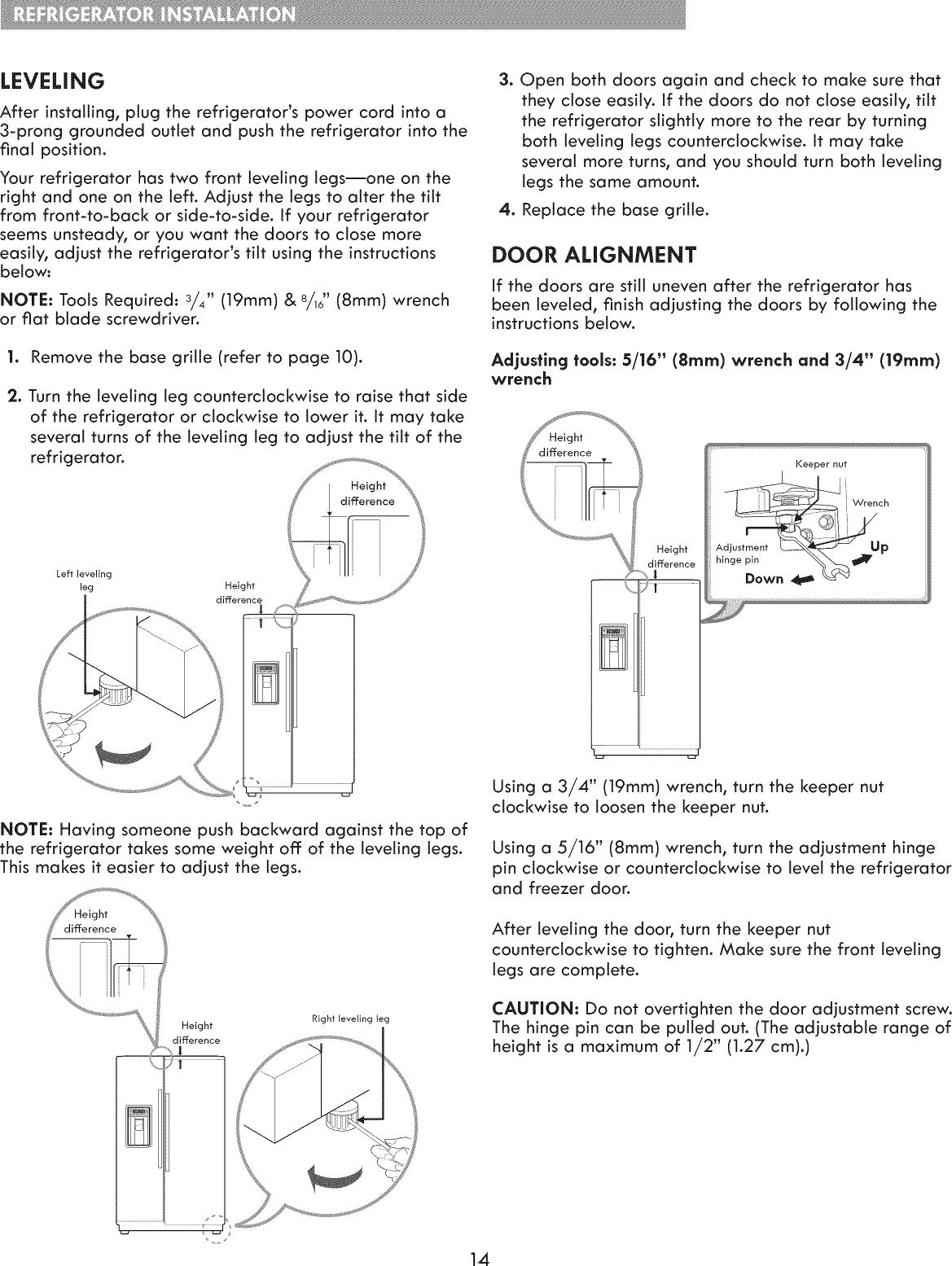 Kenmore Elite 79551822410 User Manual REFRIGERATOR Manuals And
