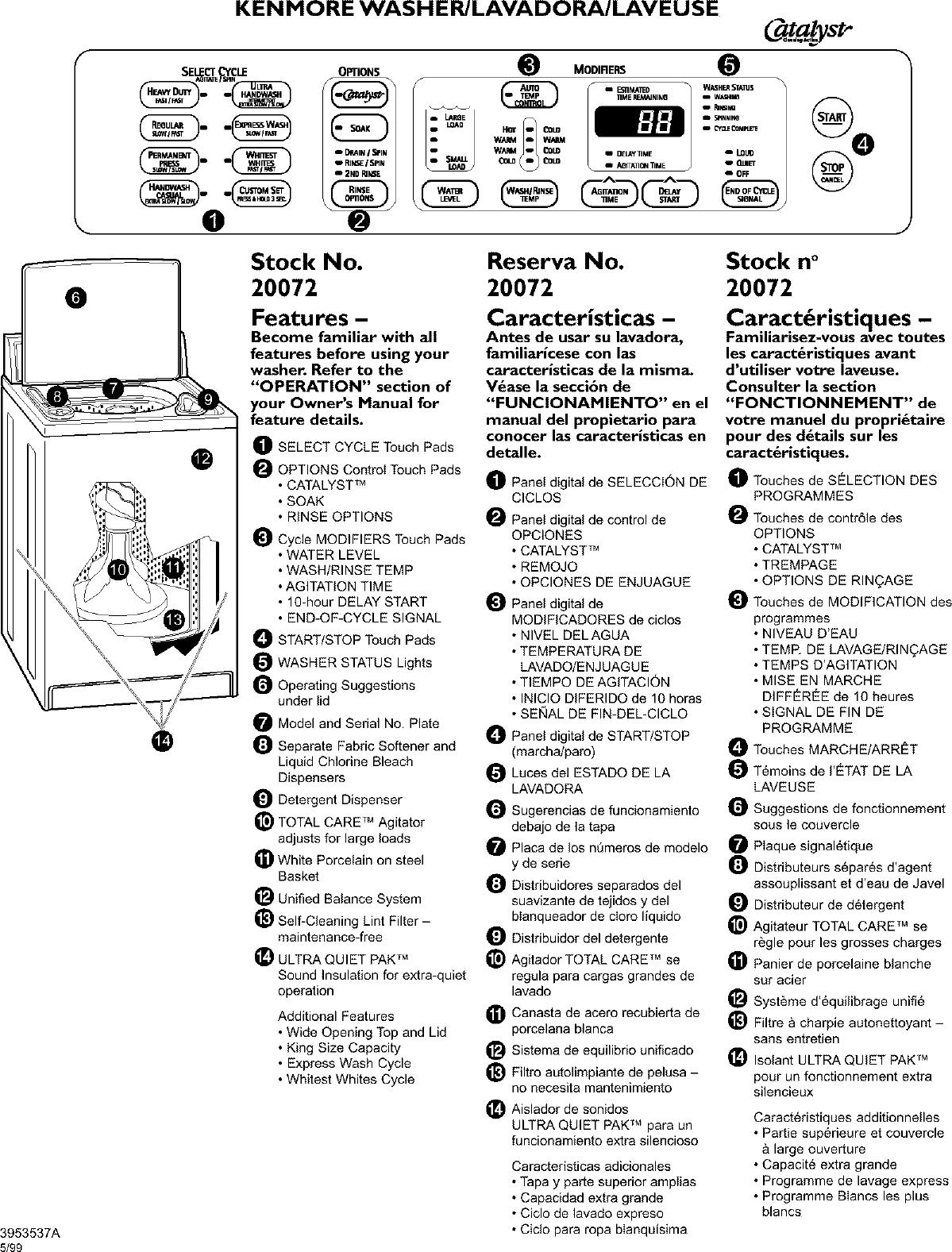 Kenmore elite coldspot model 106 owners manual.