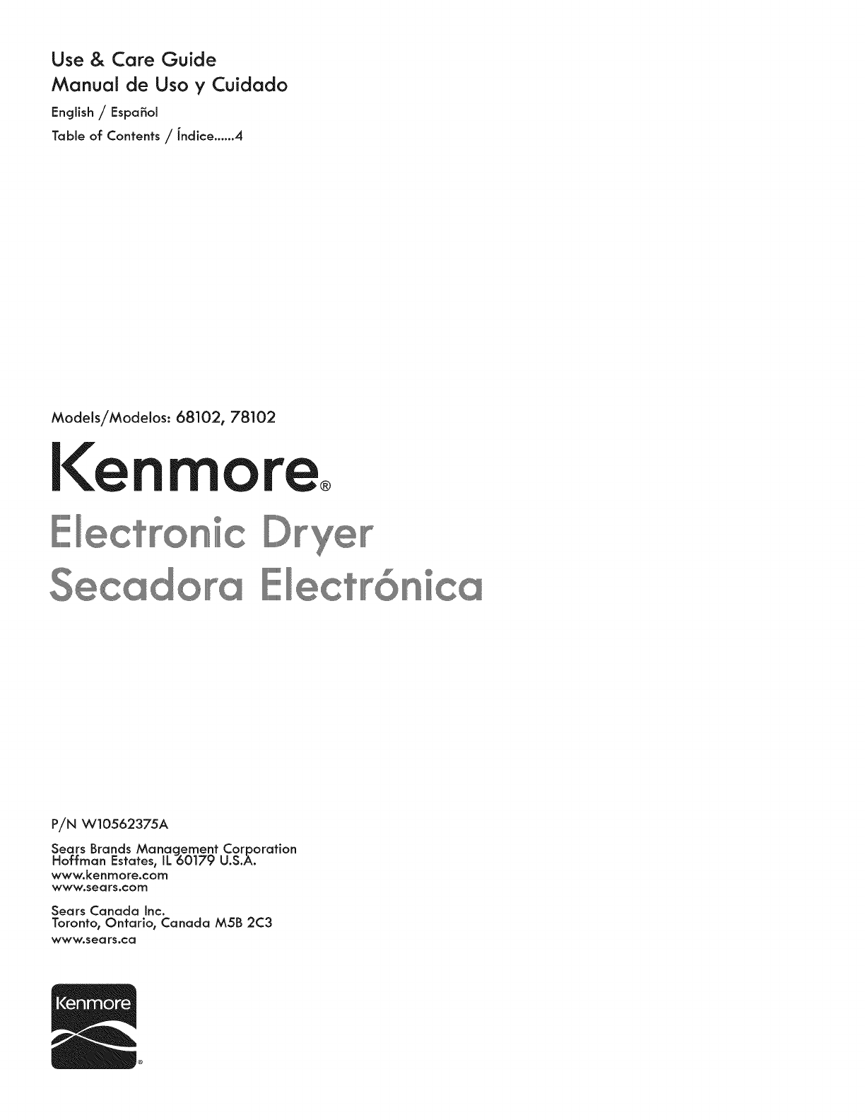 Kenmore 11068102310 User Manual 27 Electric Dryer Manuals And Guides Diagram 1402408l