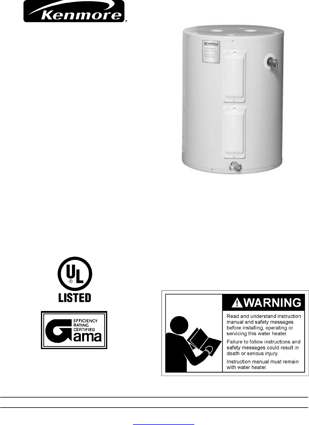 Kenmore 153326260 184732 000 user manual water heater manuals and kenmore 153326260 184732 000 user manual water heater manuals and guides 1708573l ccuart Images