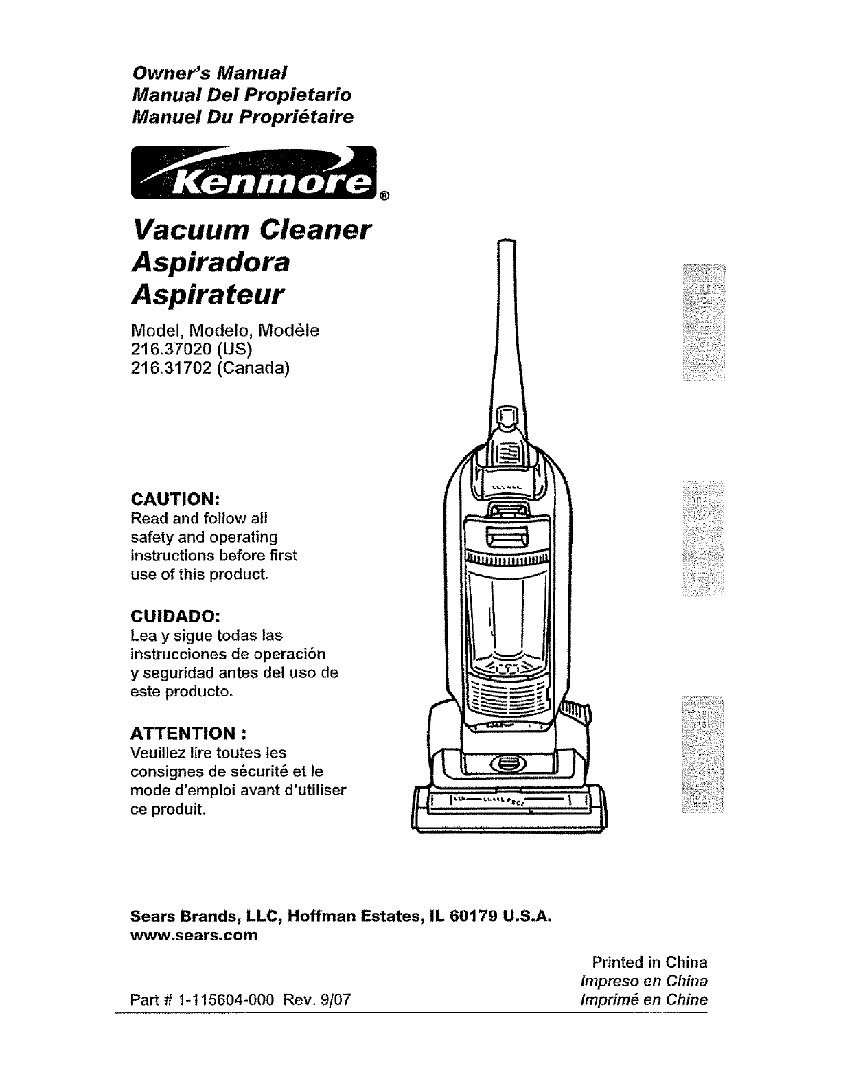 kenmore 21637020700 user manual vacuum manuals and guides l0711589 rh usermanual wiki sears vacuum manuals online sears vacuum manuals online