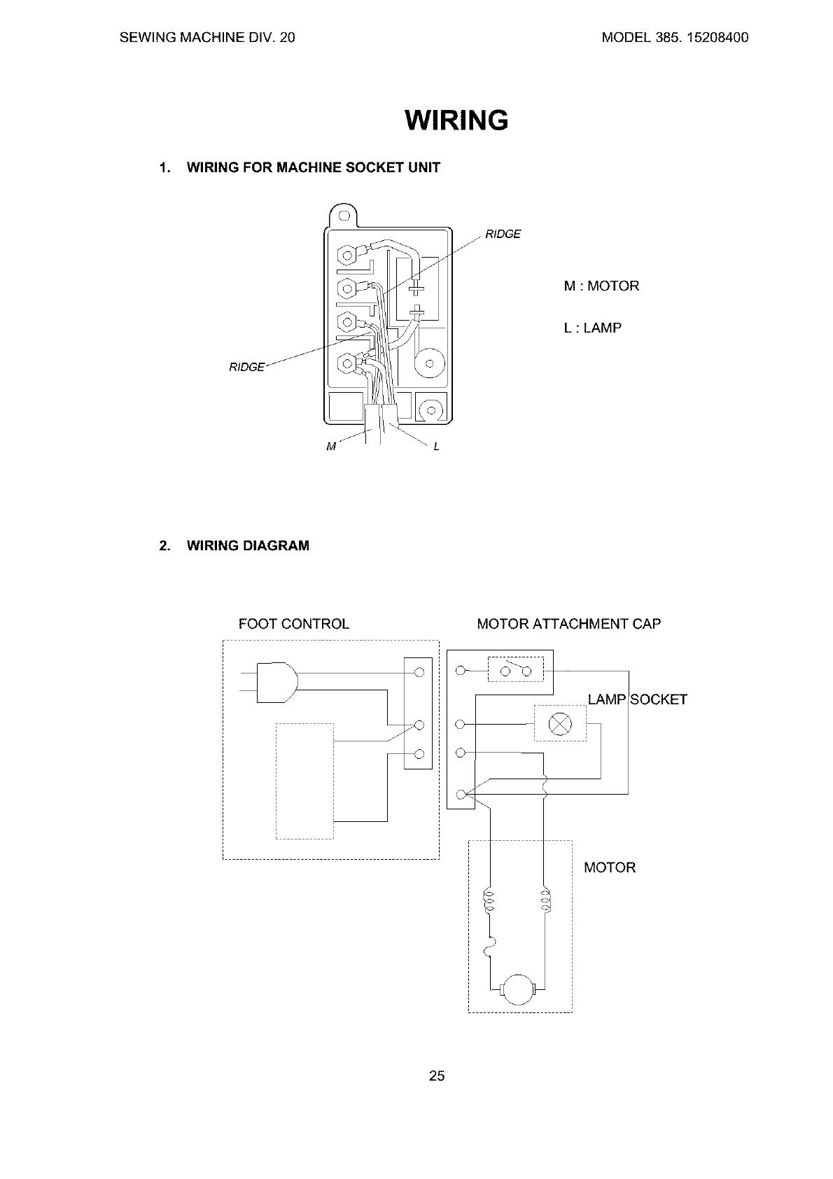 Kenmore 38515208400 User Manual Sewing