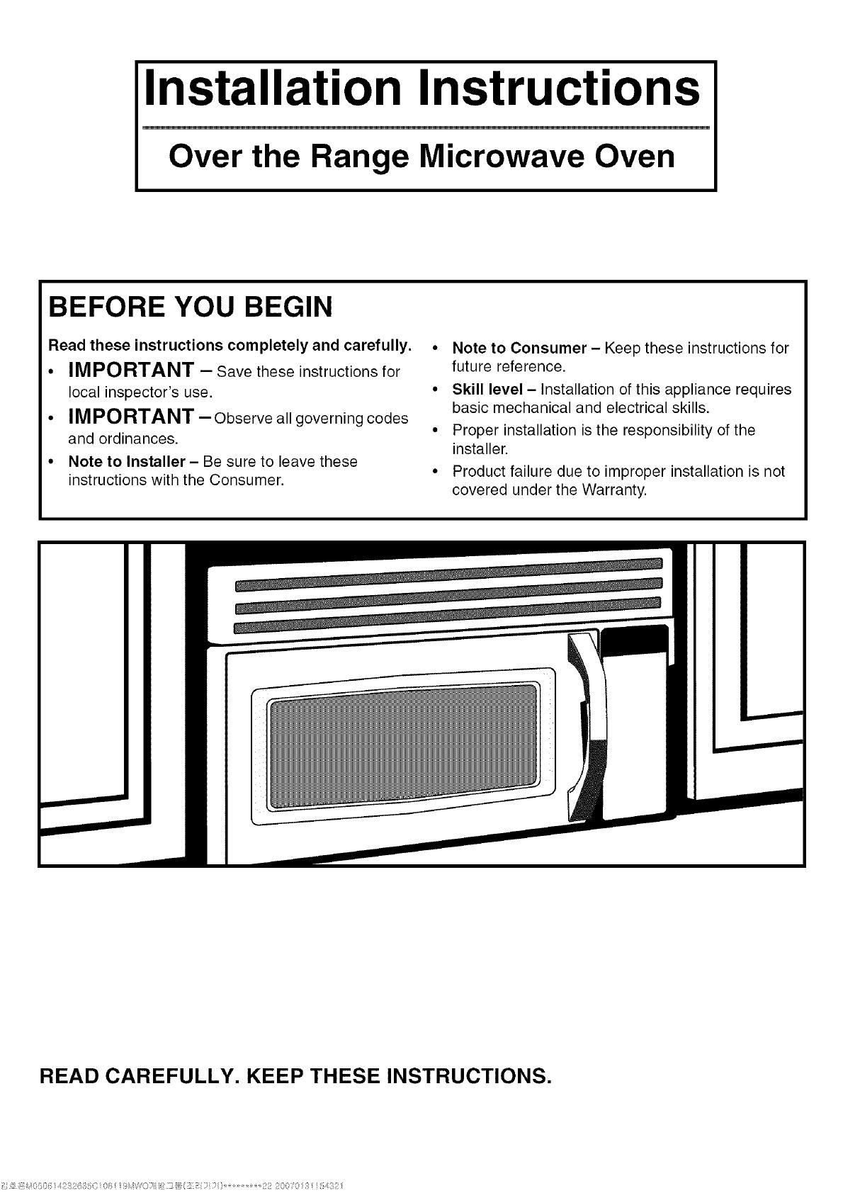 Kenmore Microwave Manuals Bestmicrowave