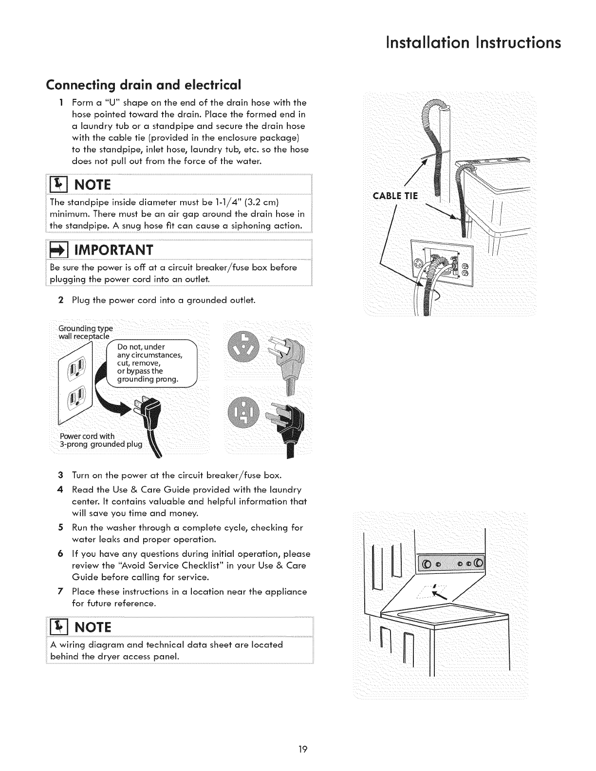 Kenmore 41761722510 User Manual Laundry Center Manuals And Guides Dryer 4 Prong Plug Wiring Diagram 1503392l