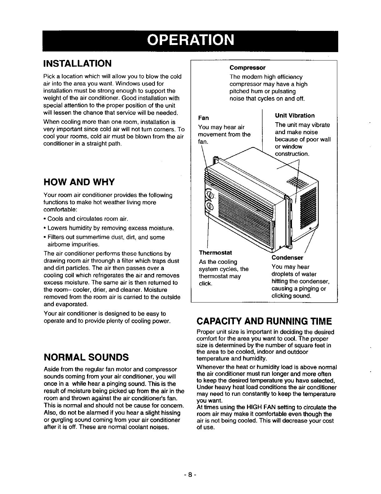 Kenmore 58078053890 User Manual ROOM AIR CONDITIONER Manuals