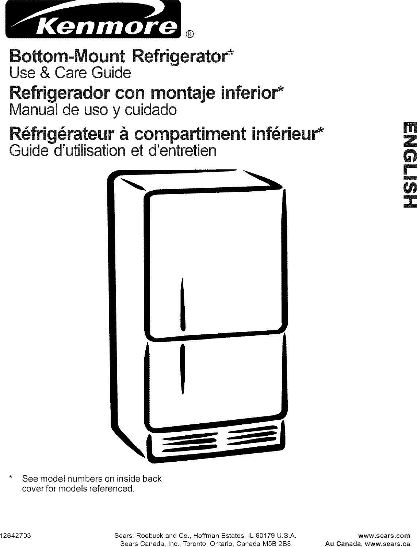kenmore water heater user manual