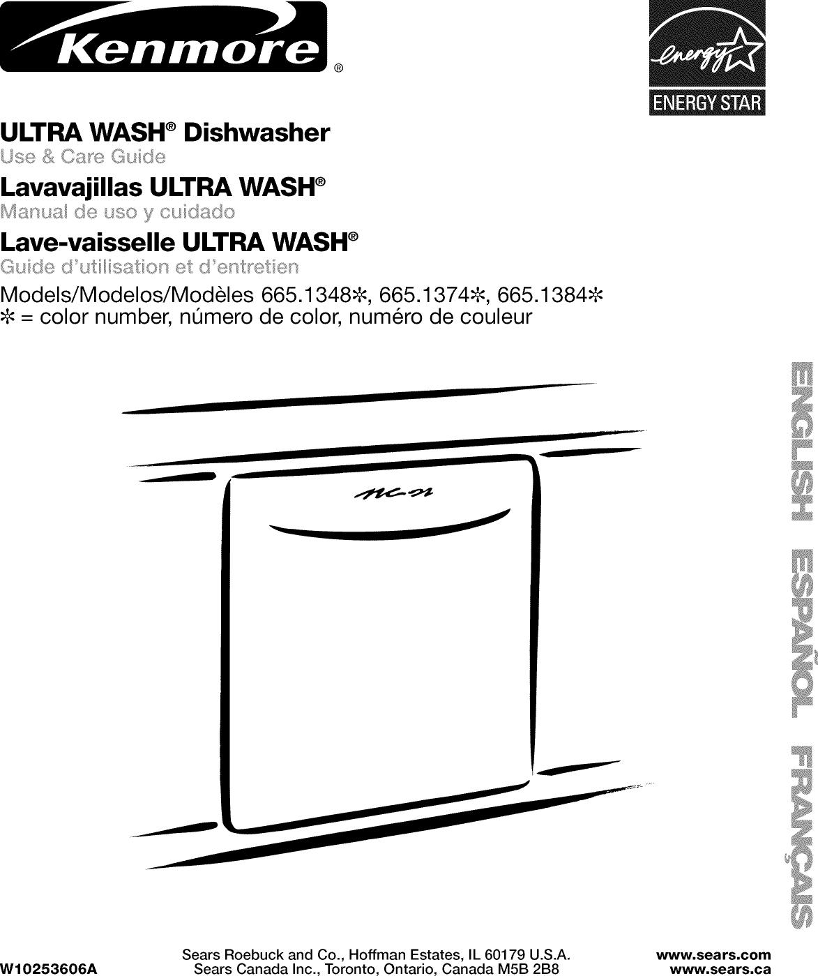 ®ULTRA WASH ®DishwasherLavavajillas ULTRA WASH ®Manua (Se uso y cu c£