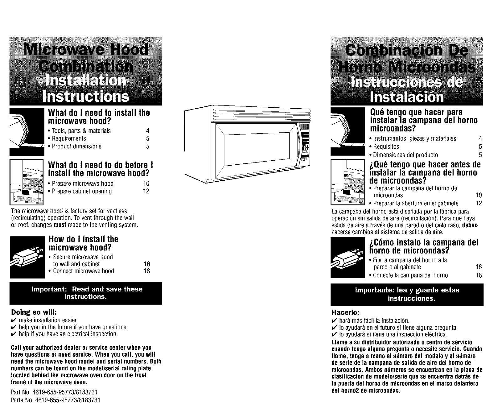 Kenmore Microwave Hood Combo Bestmicrowave