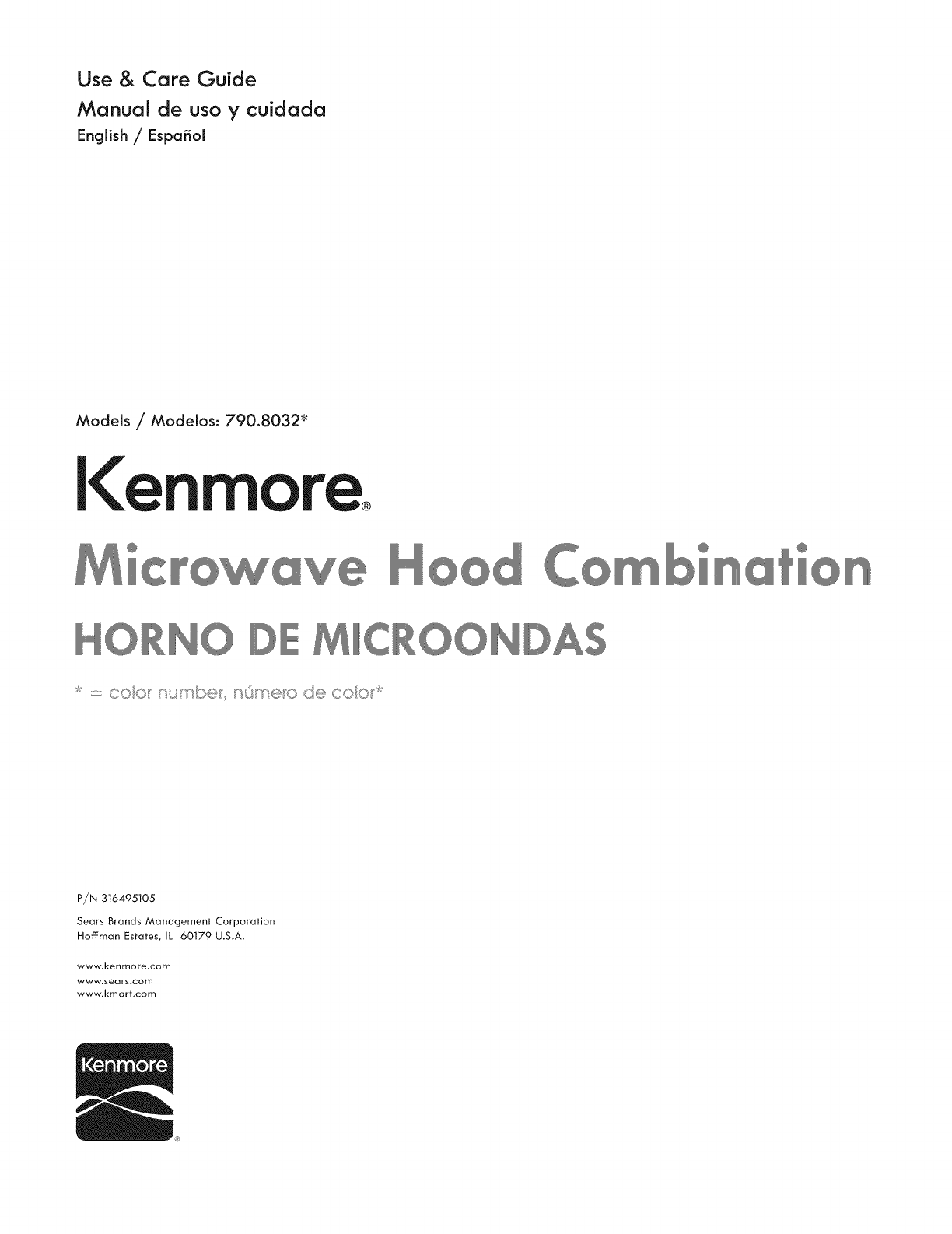 Kenmore 79080322310 User Manual Microwave Oven Manuals And Guides 1308187l