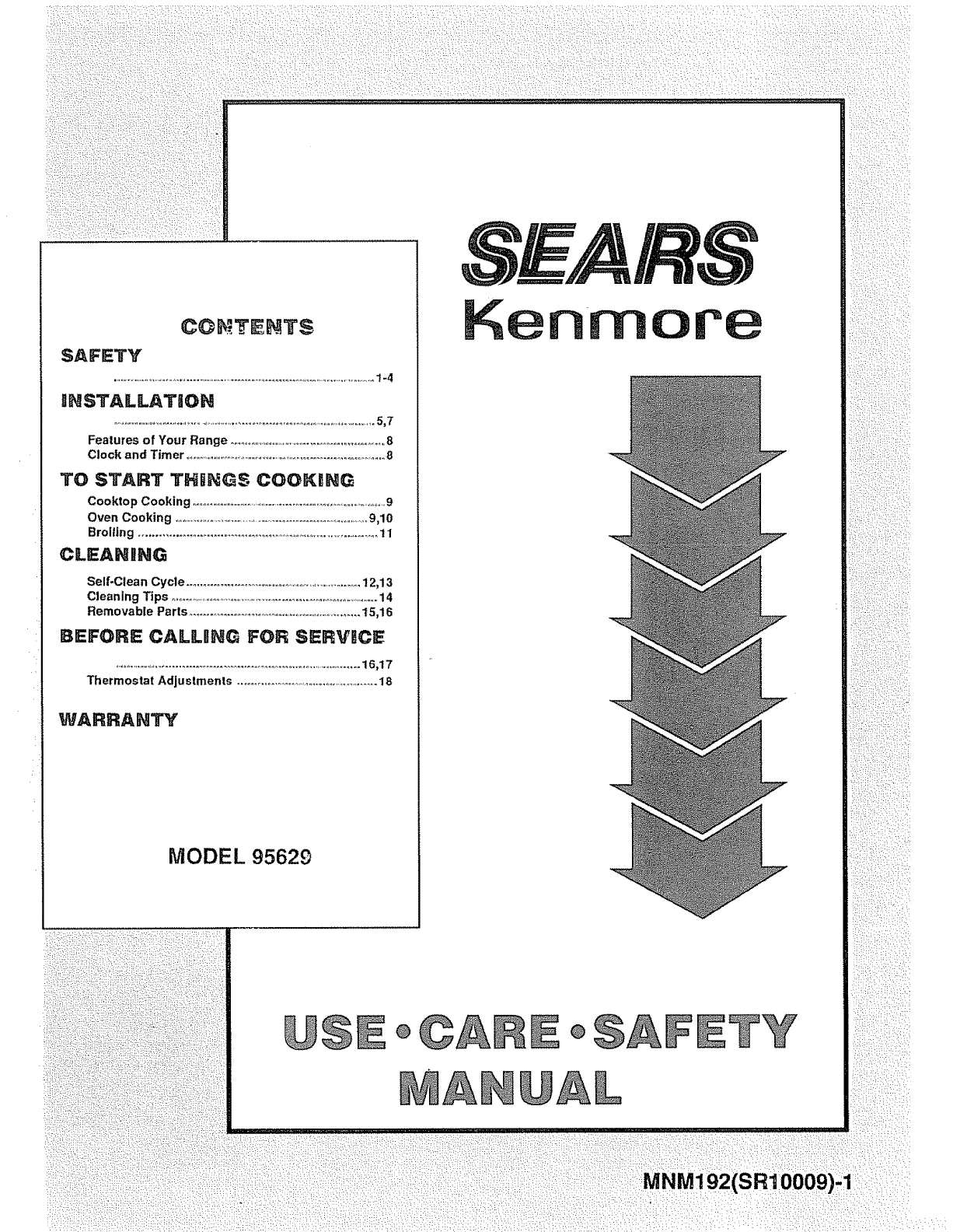 kenmore 9119562991 user manual free standing range manuals and rh usermanual wiki Kenmore Thermostat Diagram Kenmore Refrigerator Parts Thermostat