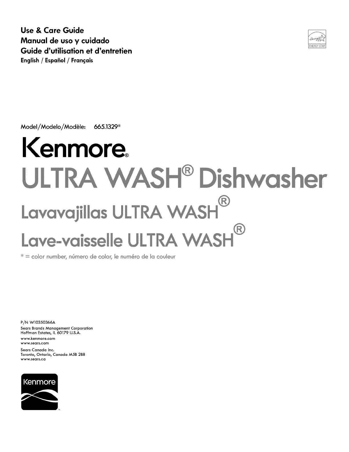 Kenmore 13299 Owner S Manual