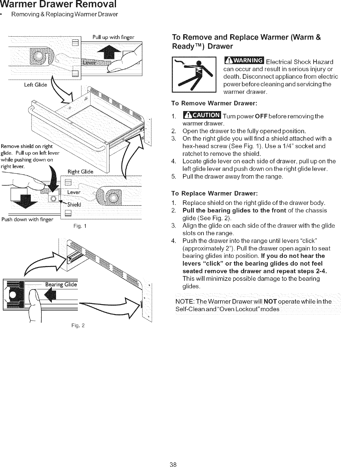 Kenmore 9664 Users Manual on