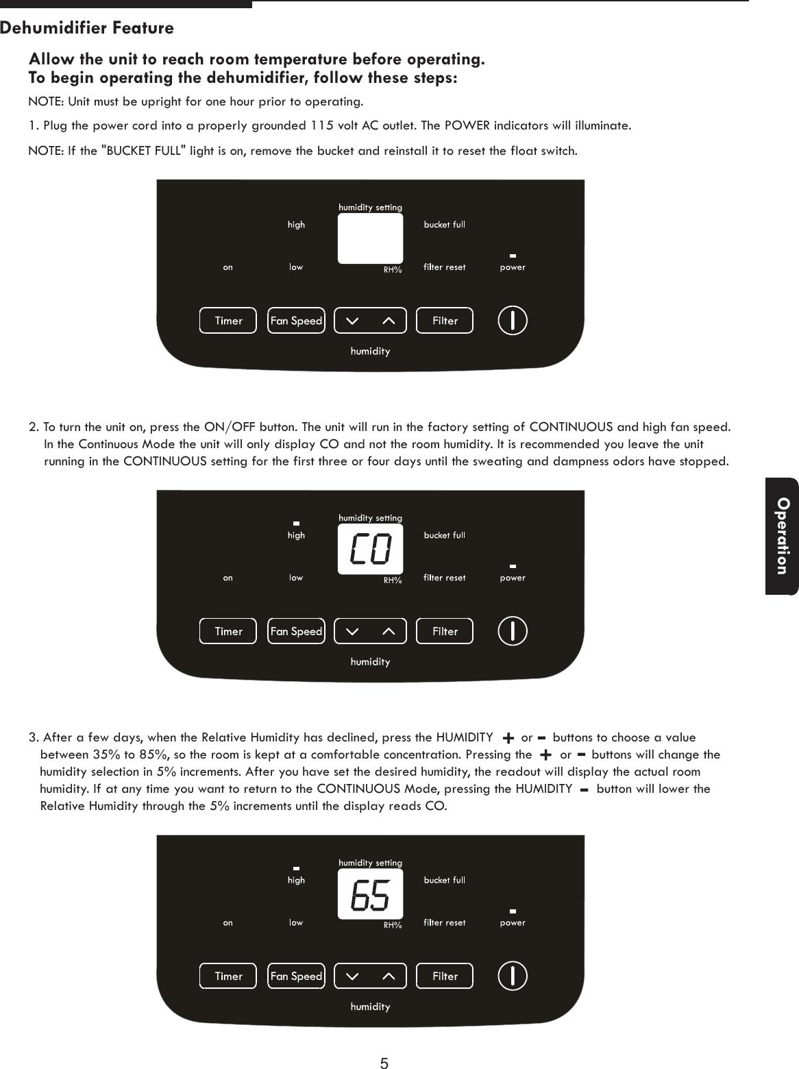 Kenmore Dehumidifier 253 25001 Users Manual 灏侀潰